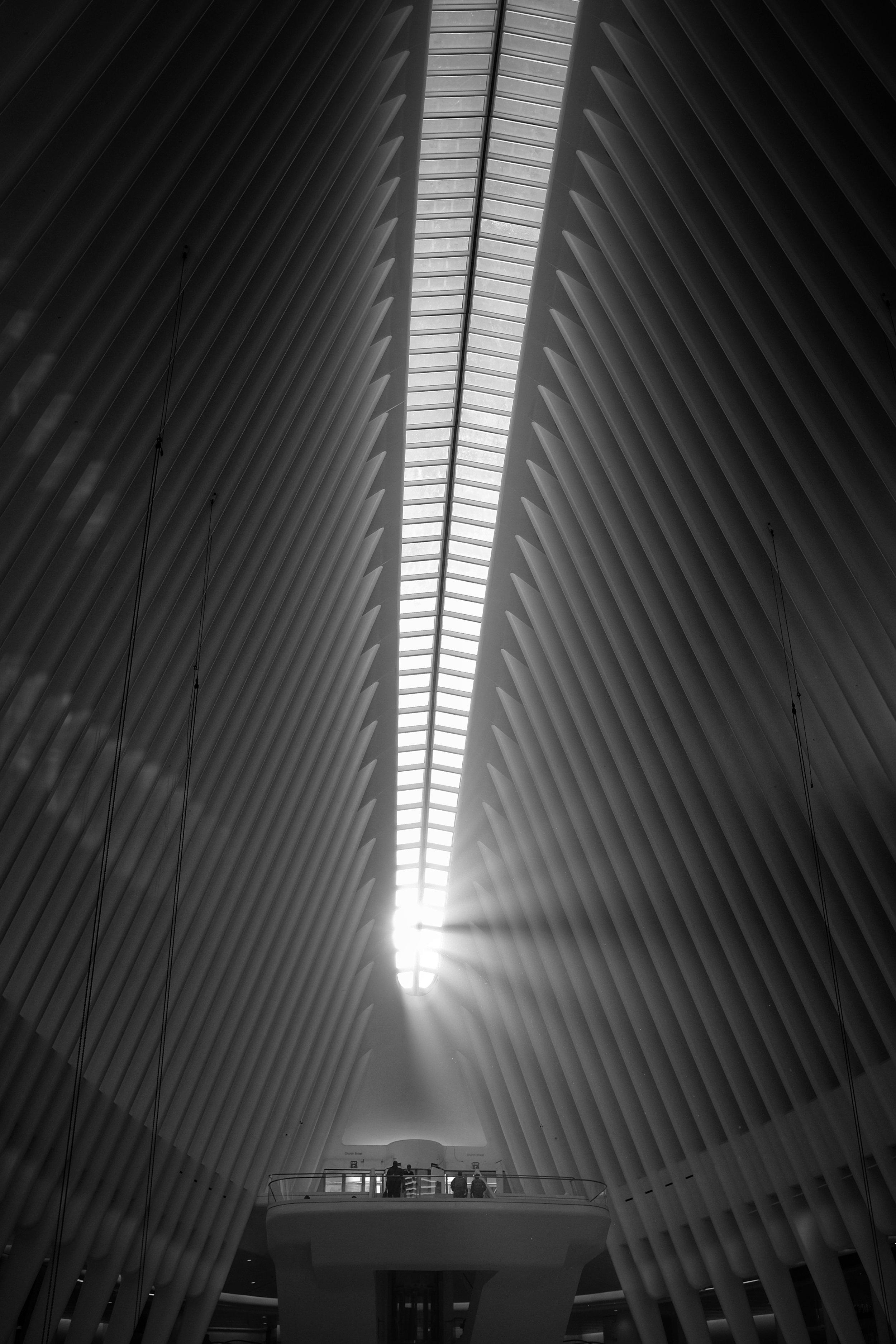 The Oculus. World Trade Center. New York City. 2016.