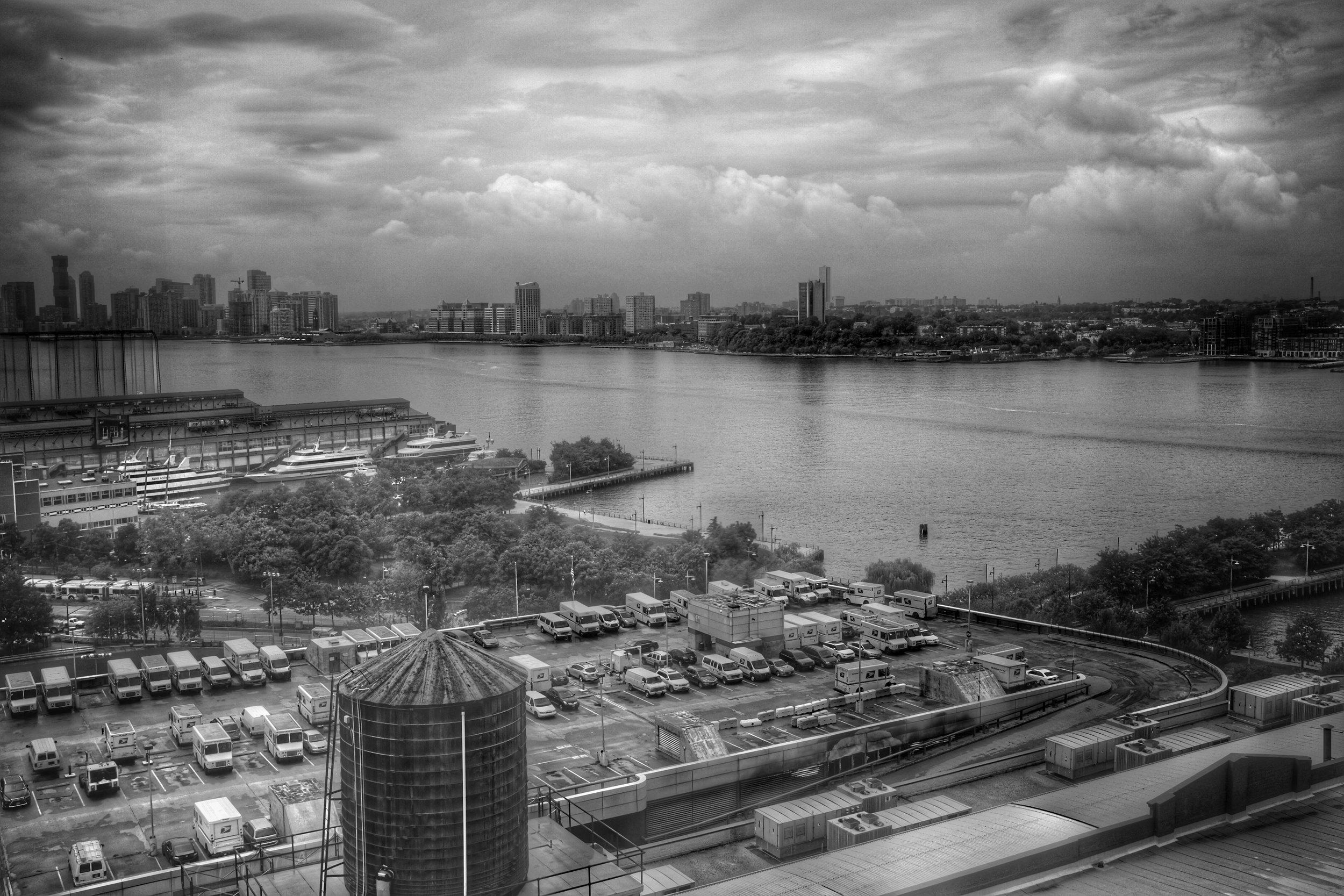 Hudson River. Hudson Studios. Chelsea. New York City. 2016.