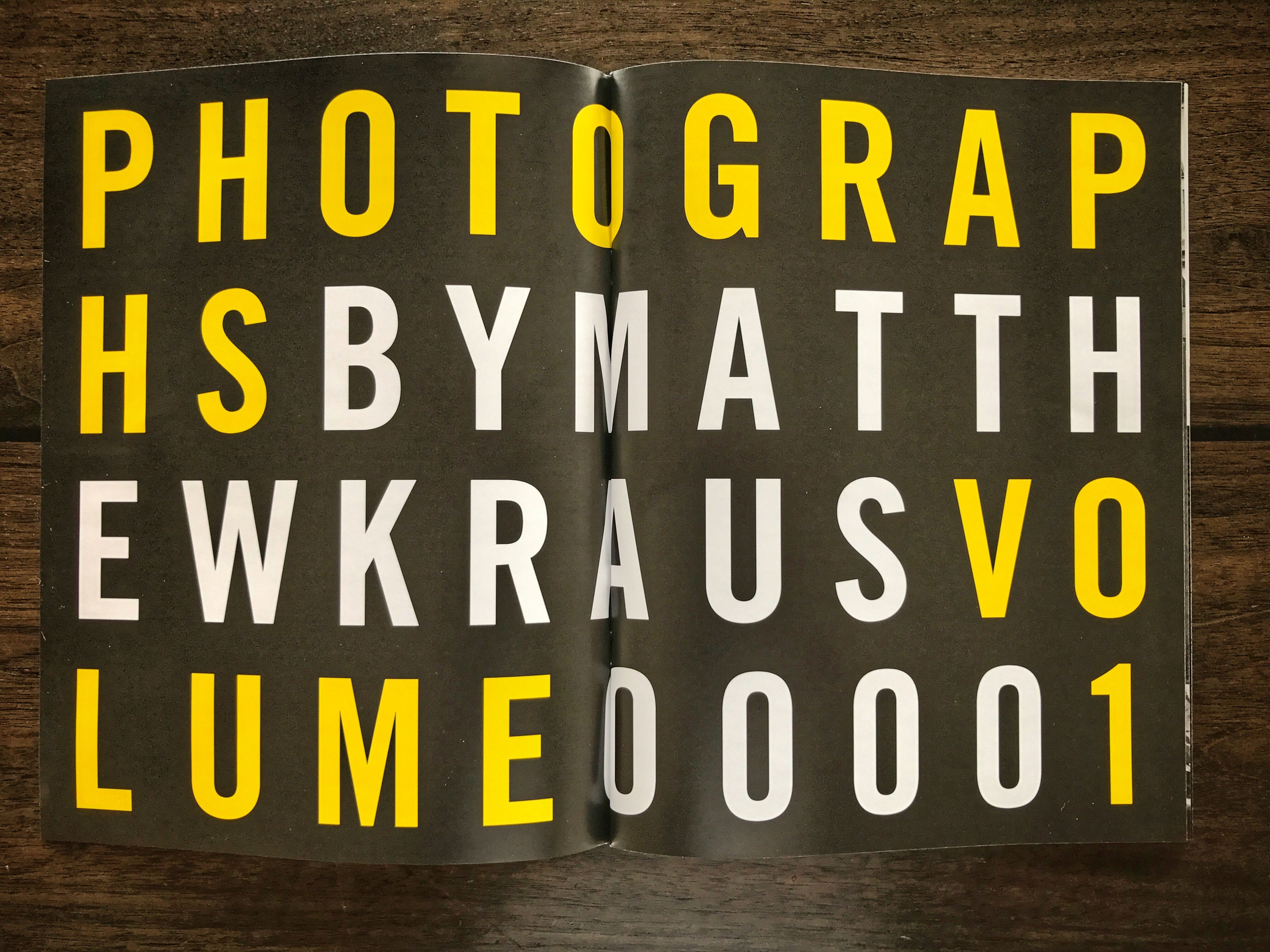 PHOTOGRAPHS Volume 1