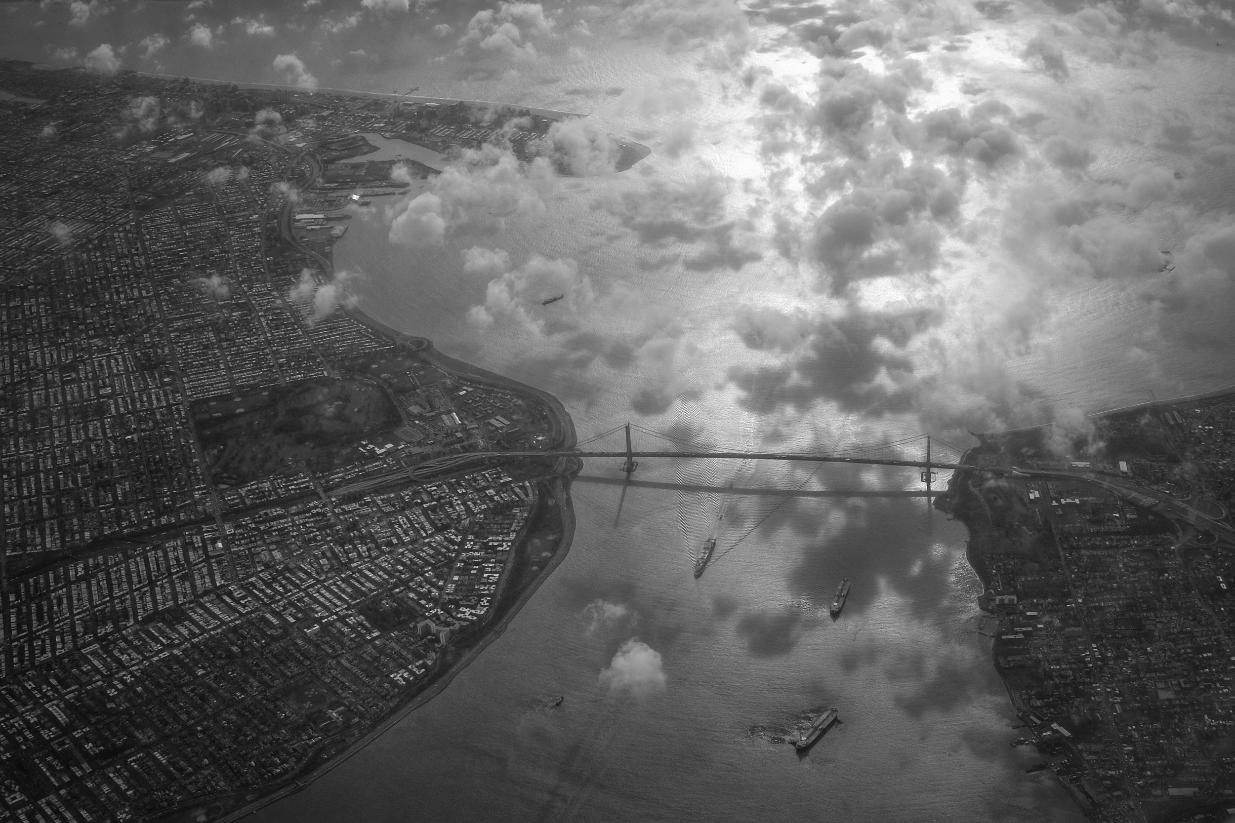 Verrazano Bridge. New York City. 2016