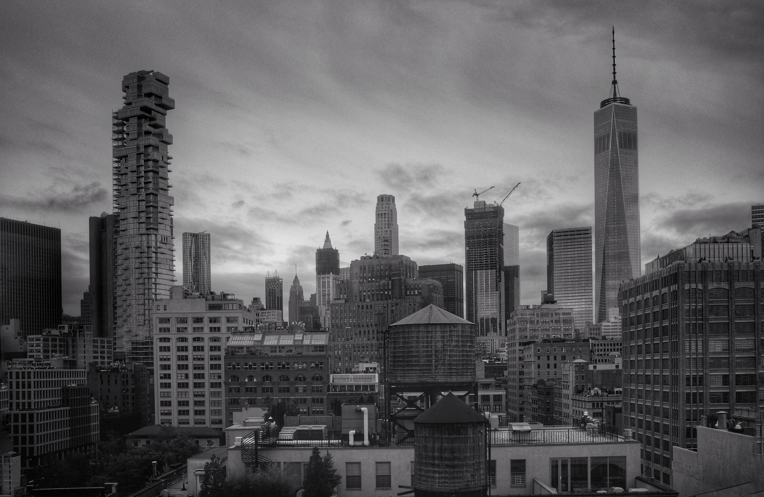 Lower Manhattan from TriBeCa. New York City. 2016.