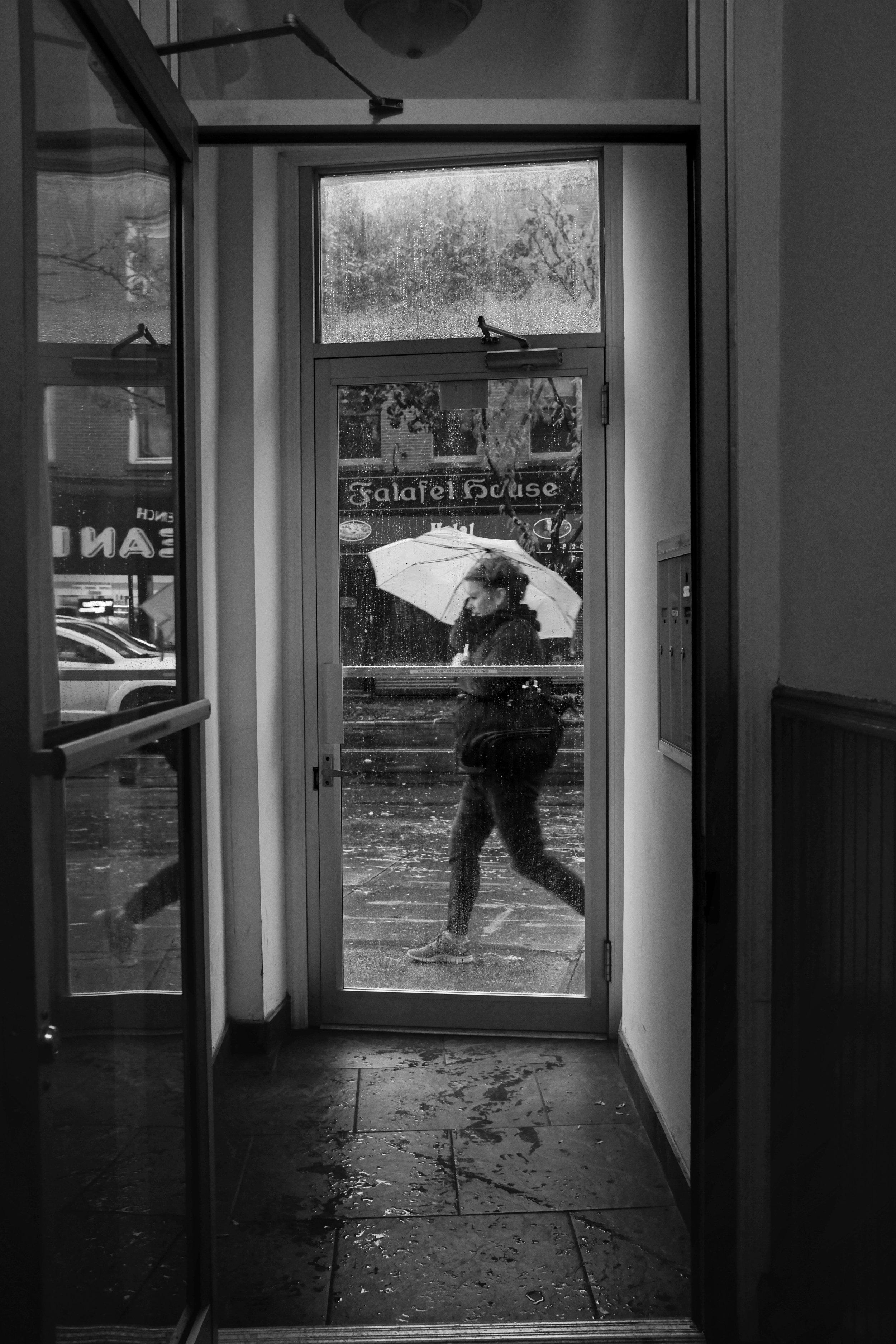 Apartment Door. Myrtle Avenue. Clinton Hill. Brooklyn. NY. 2016.