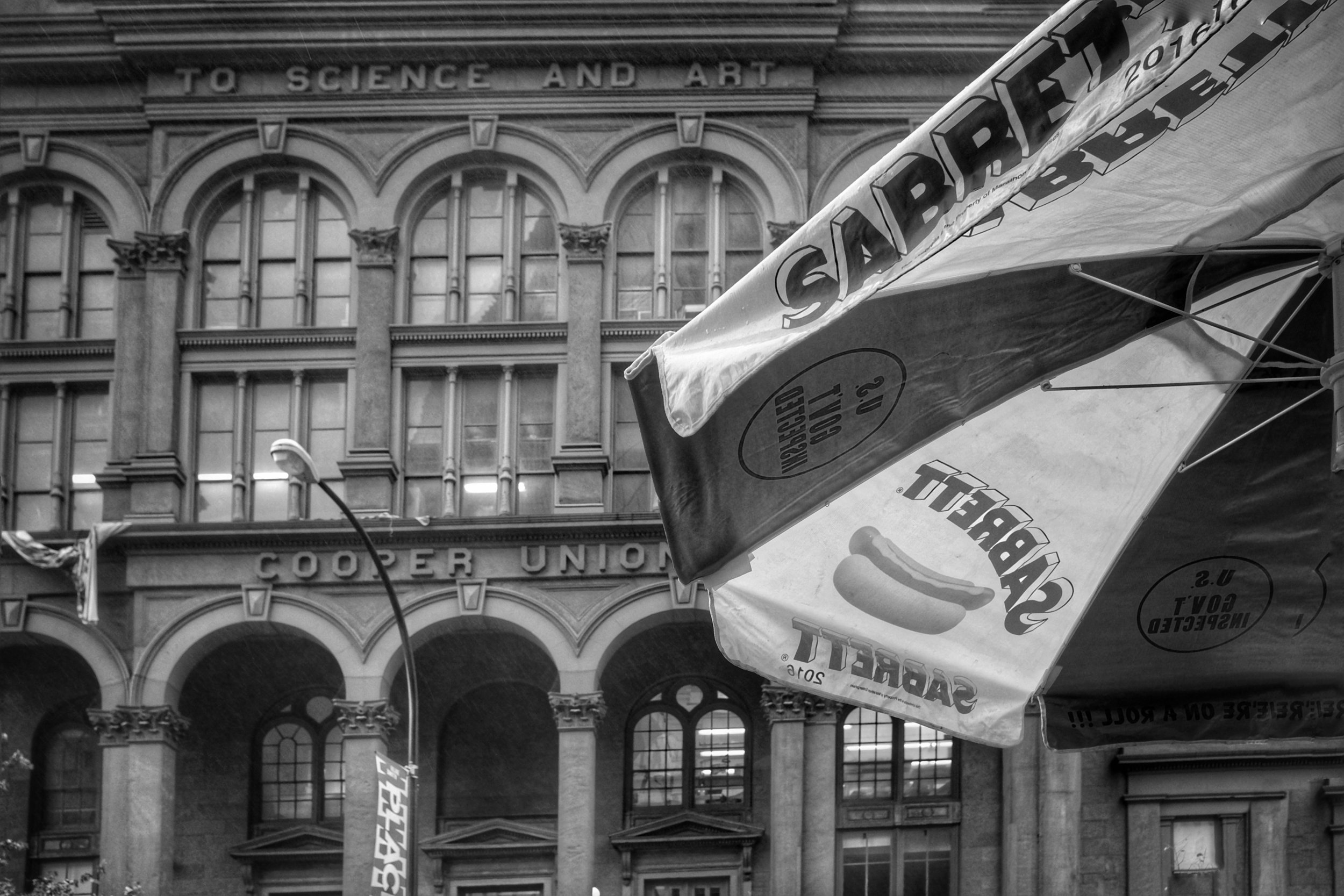 Cooper Union. East Village. New York City. 2016.