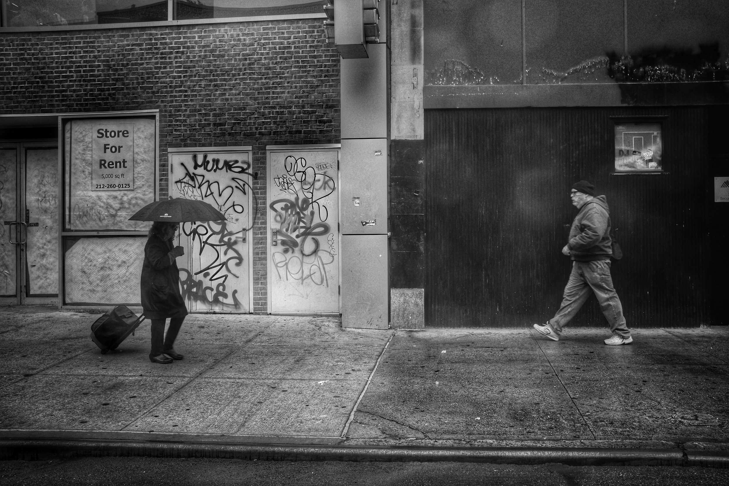 Avenue A. East Village. Manhattan. New York City. 2016.