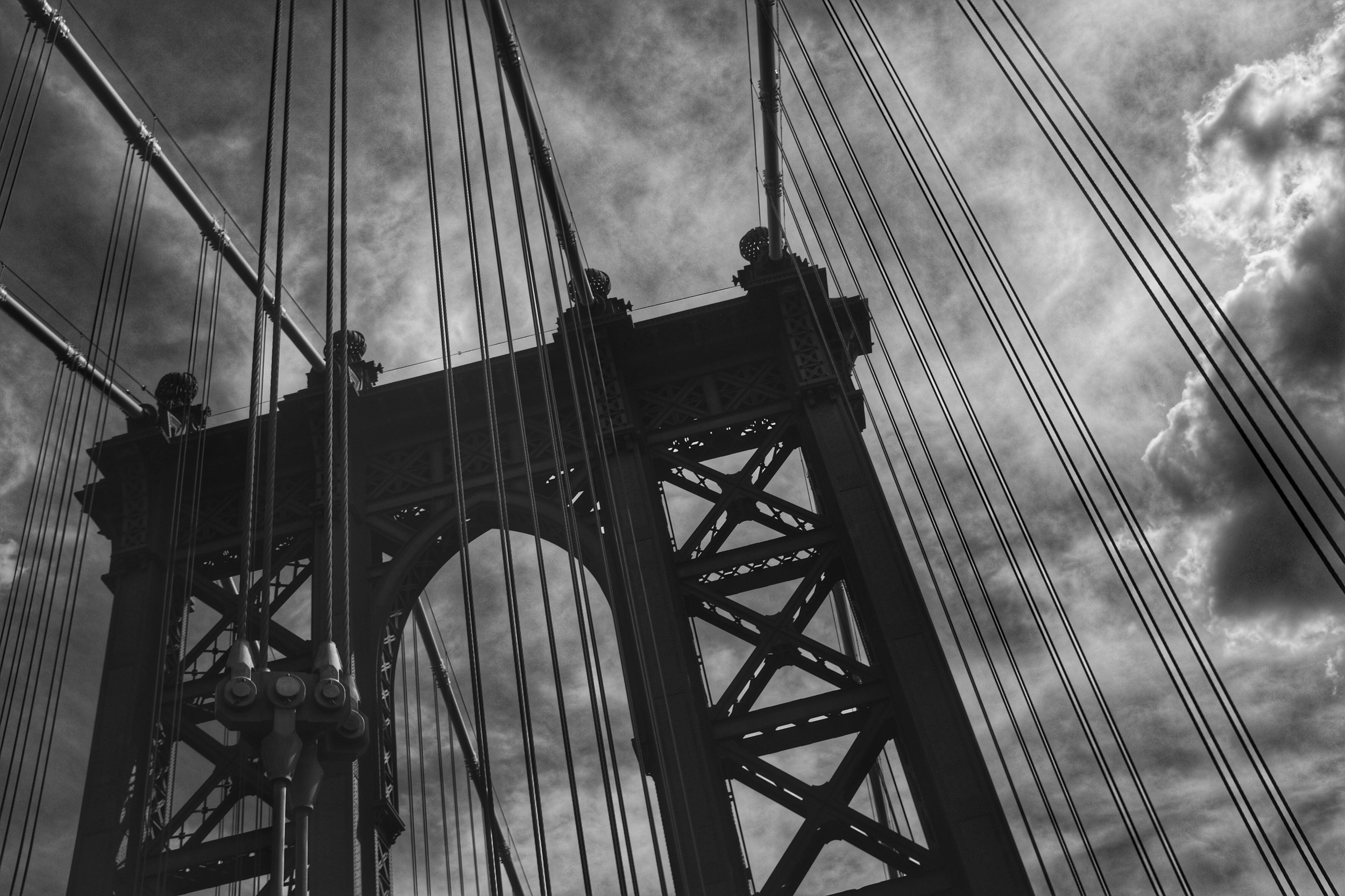 Manhattan Bridge. New York City. 2016.
