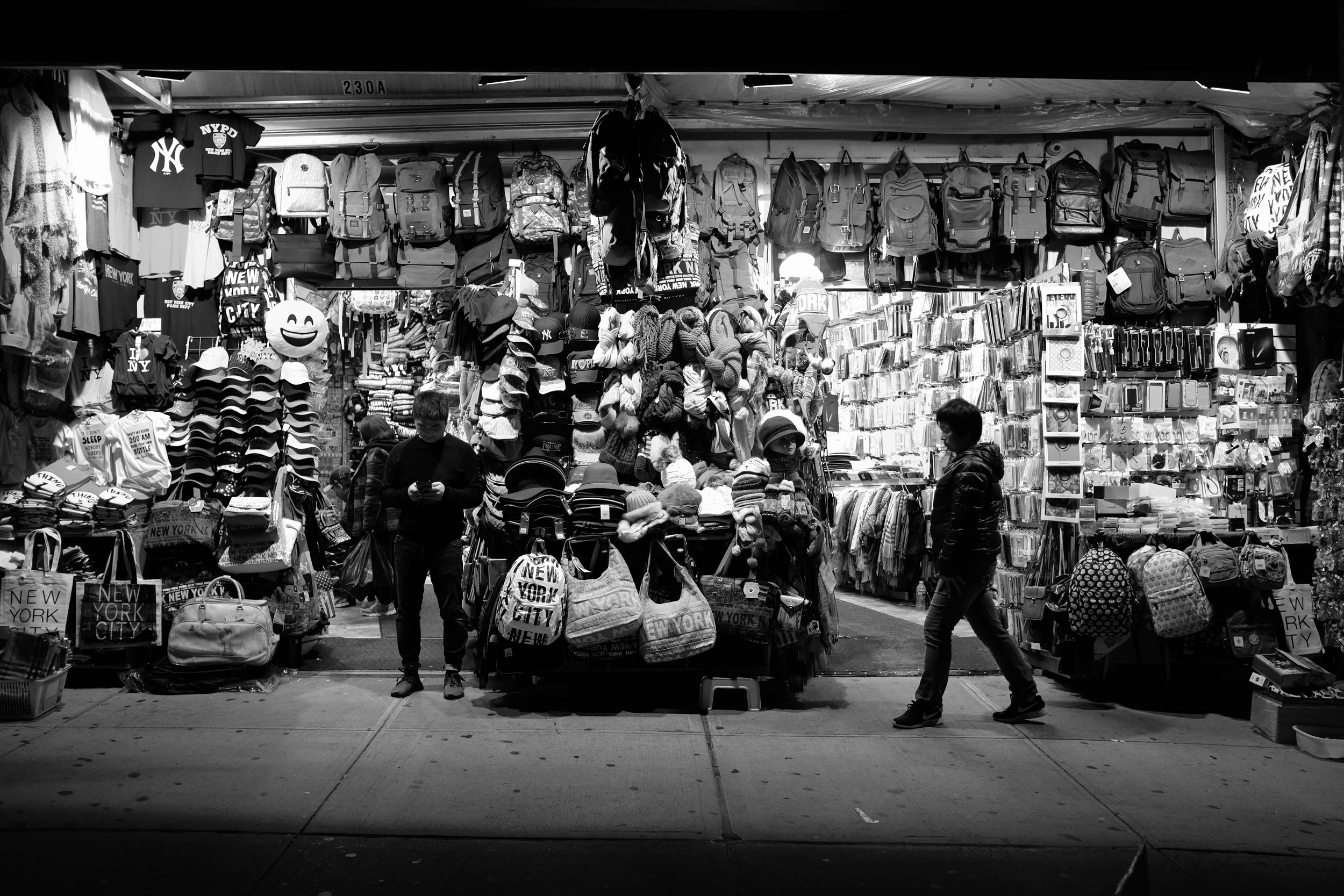 Canal Street. Chinatown. New York City. 2016.