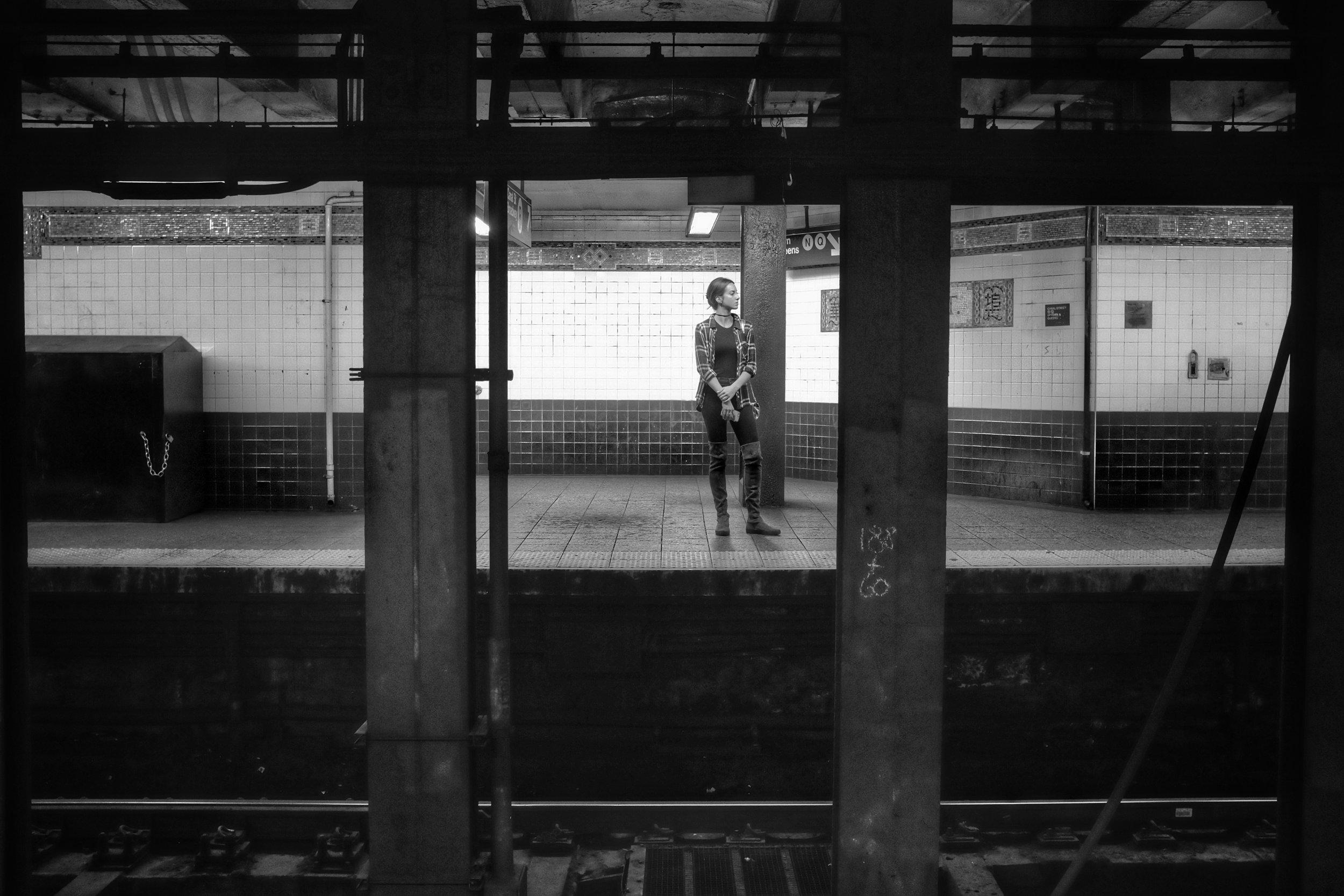 Canal Street NRQ Station. Chinatown. New York City. 2016.