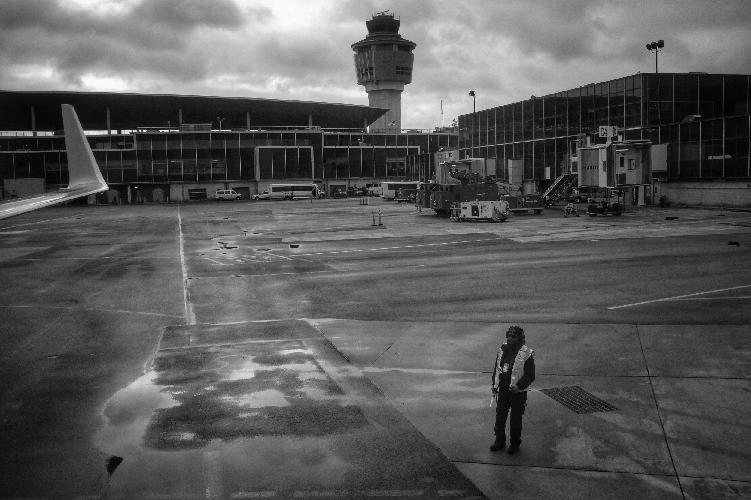 La Guardia Airport. Queens. New York. 2016