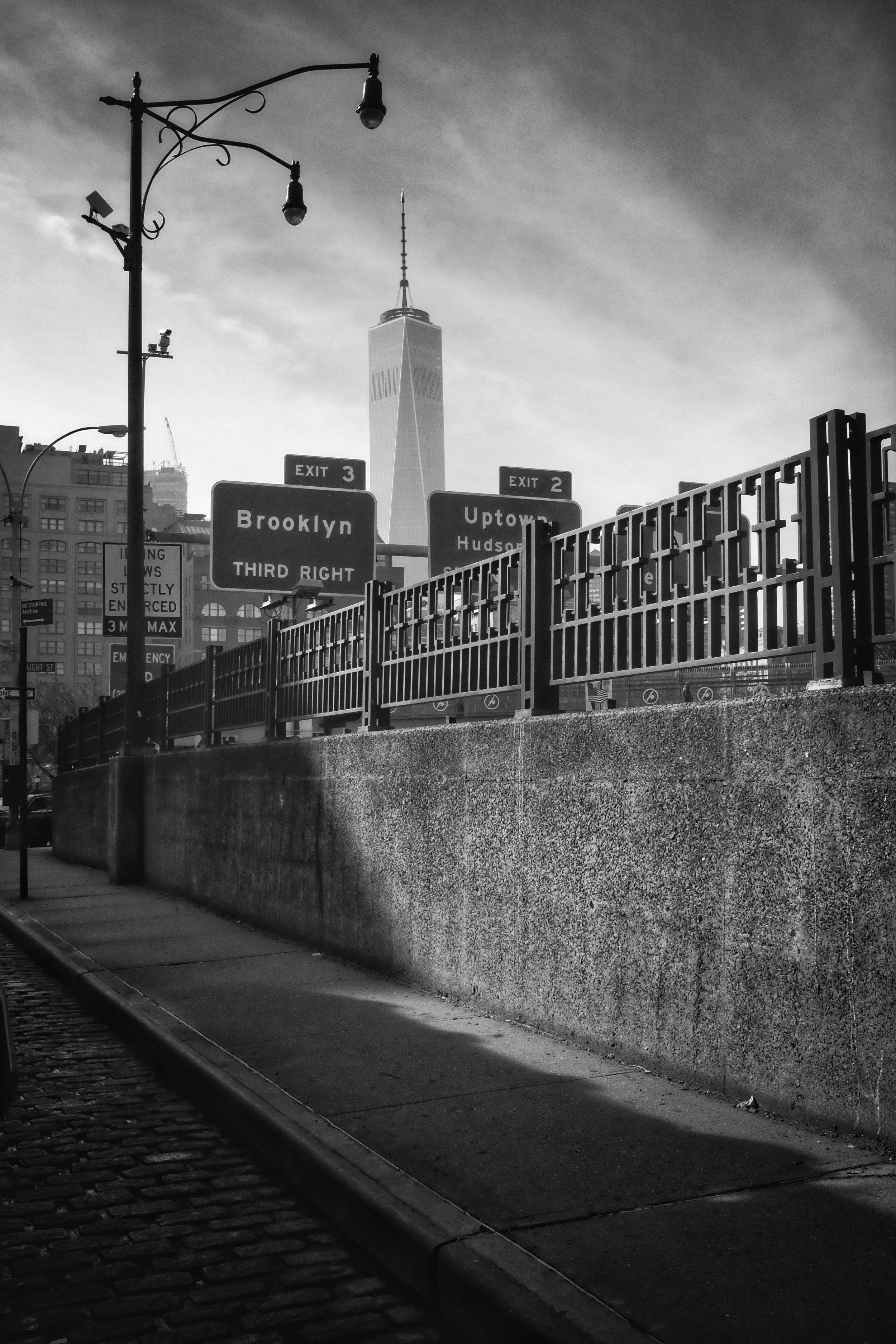 One World Trade. Varick Street. TriBeCa. New York City. 2016