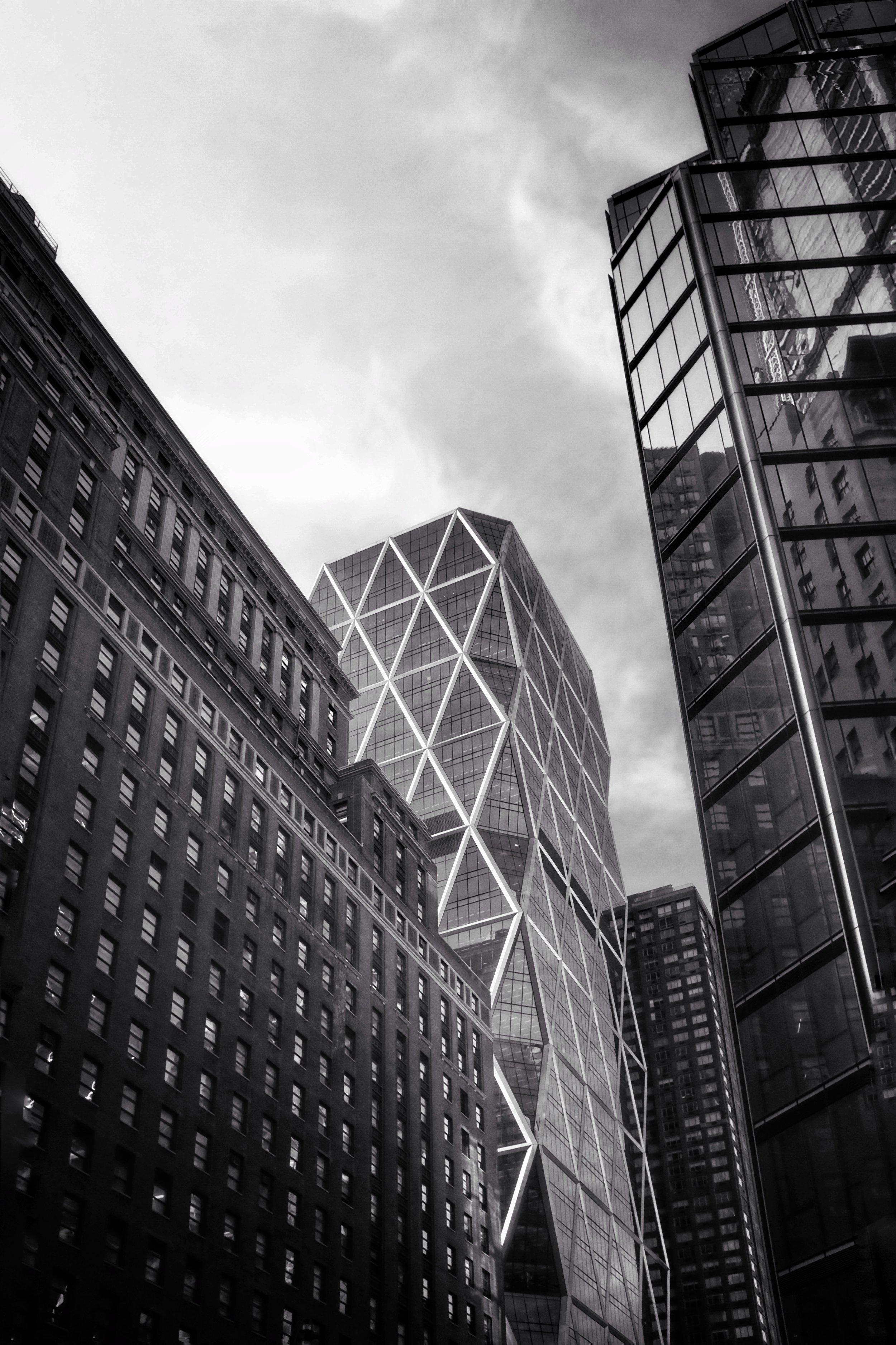 Hearst Tower. Manhattan. New York City. 2017.