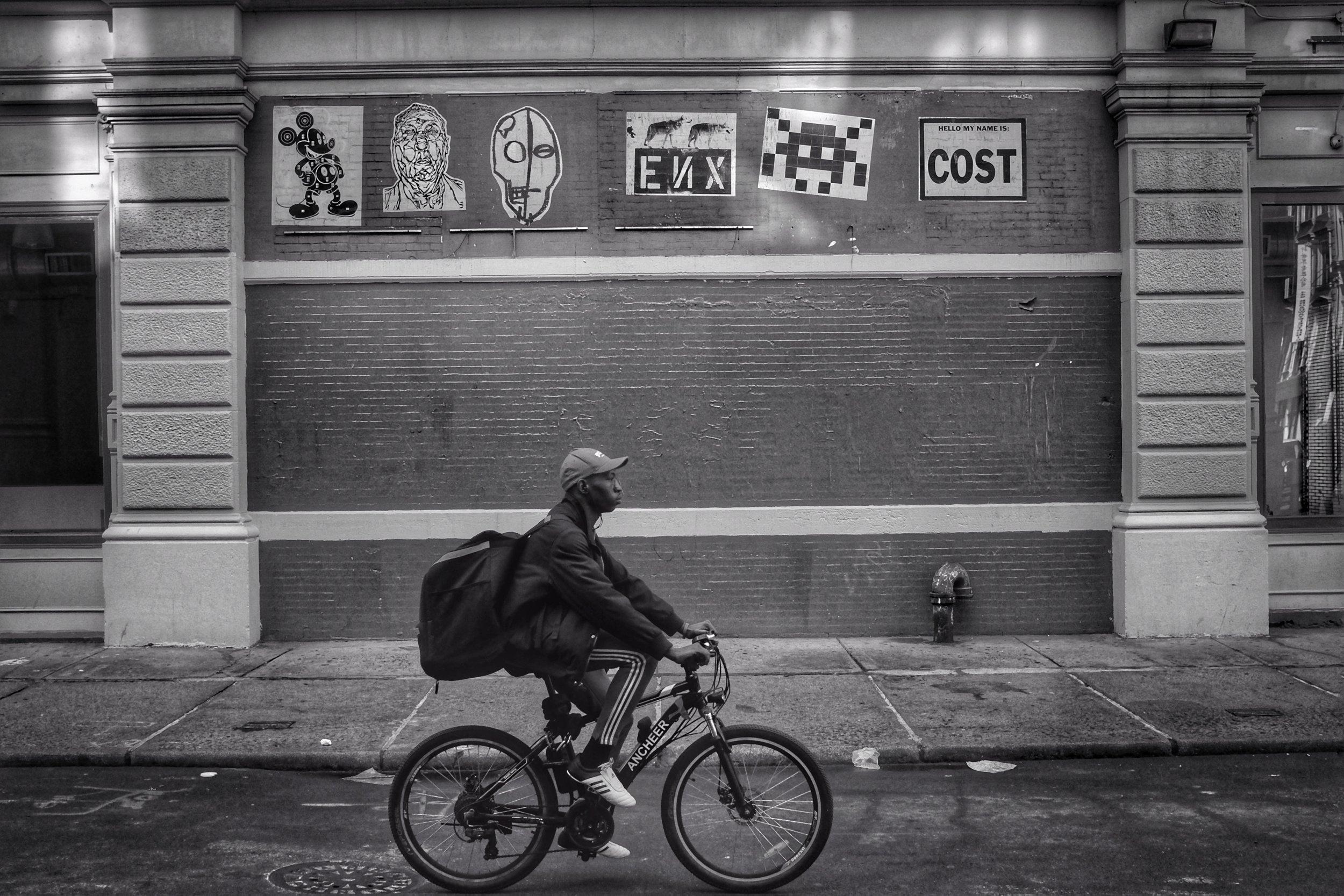 Howard Street. SOHO. New York City. 2017.