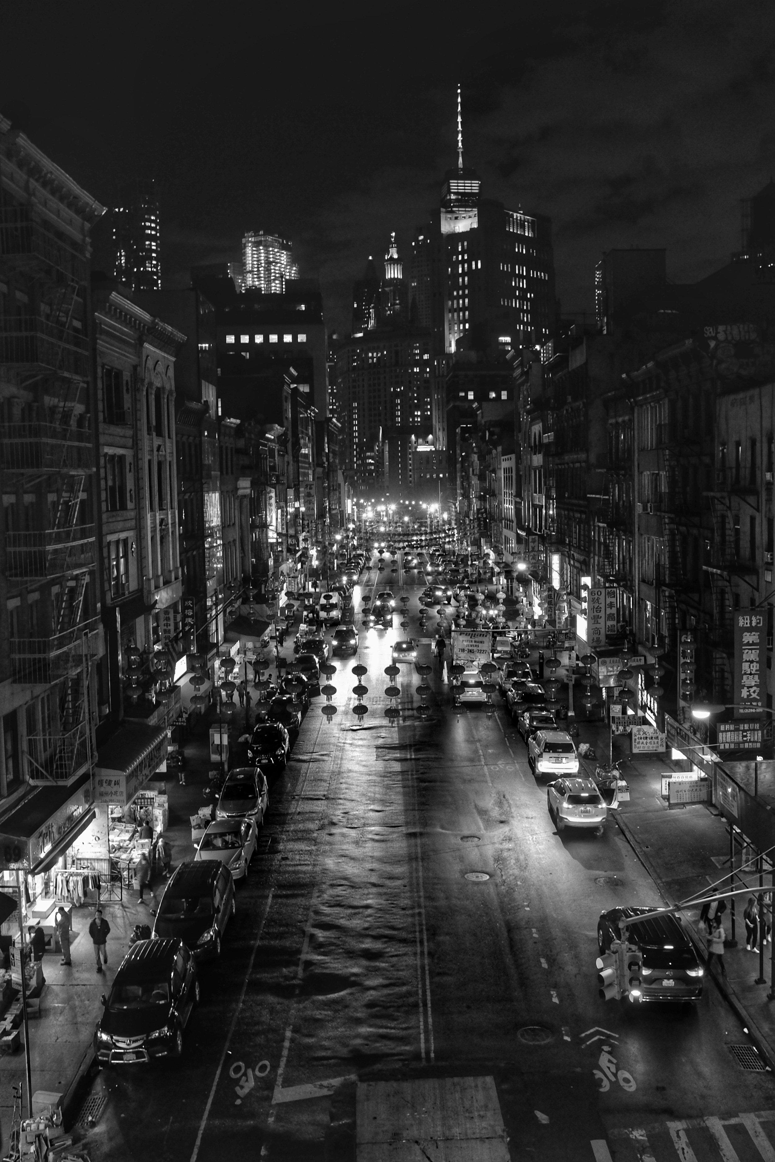 East Broadway. Chinatown. New York City. 2017.