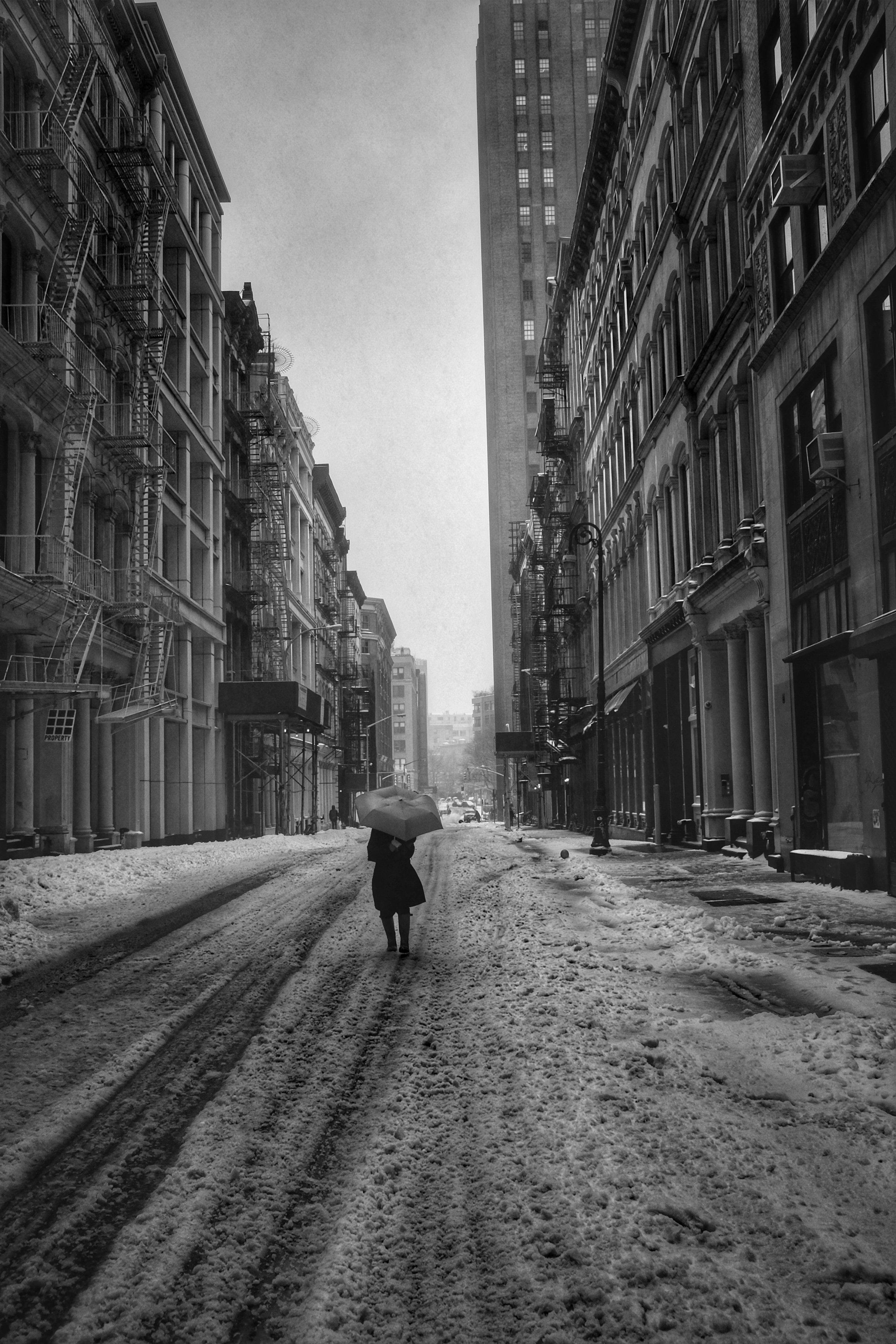 Walker Street. TriBeCa. New York City. 2017.