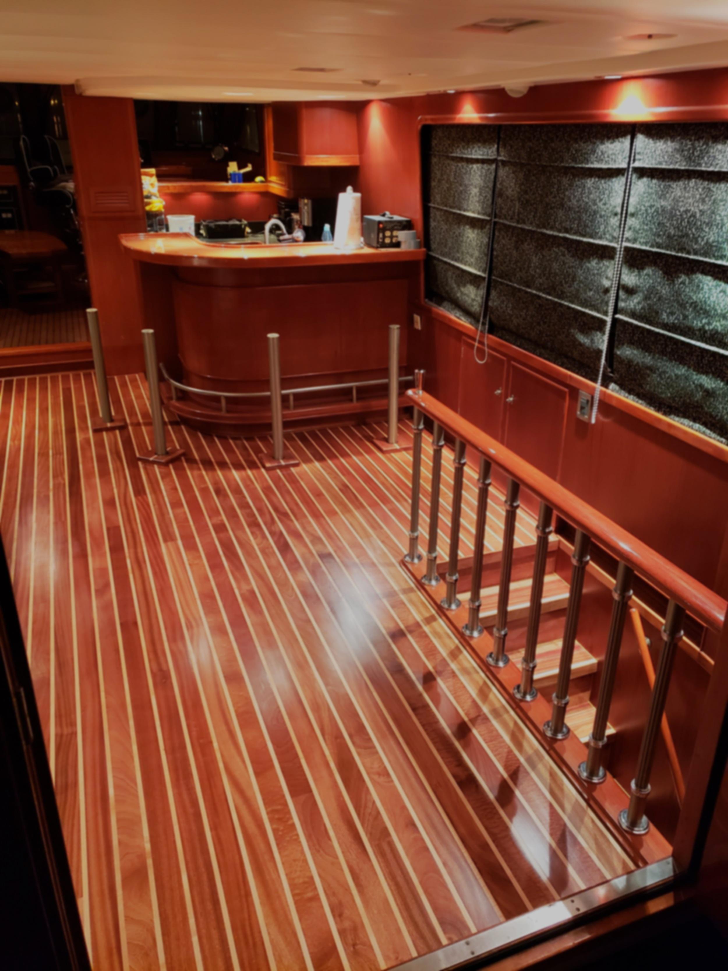 Interior Boat Flooring Wood Line Productions