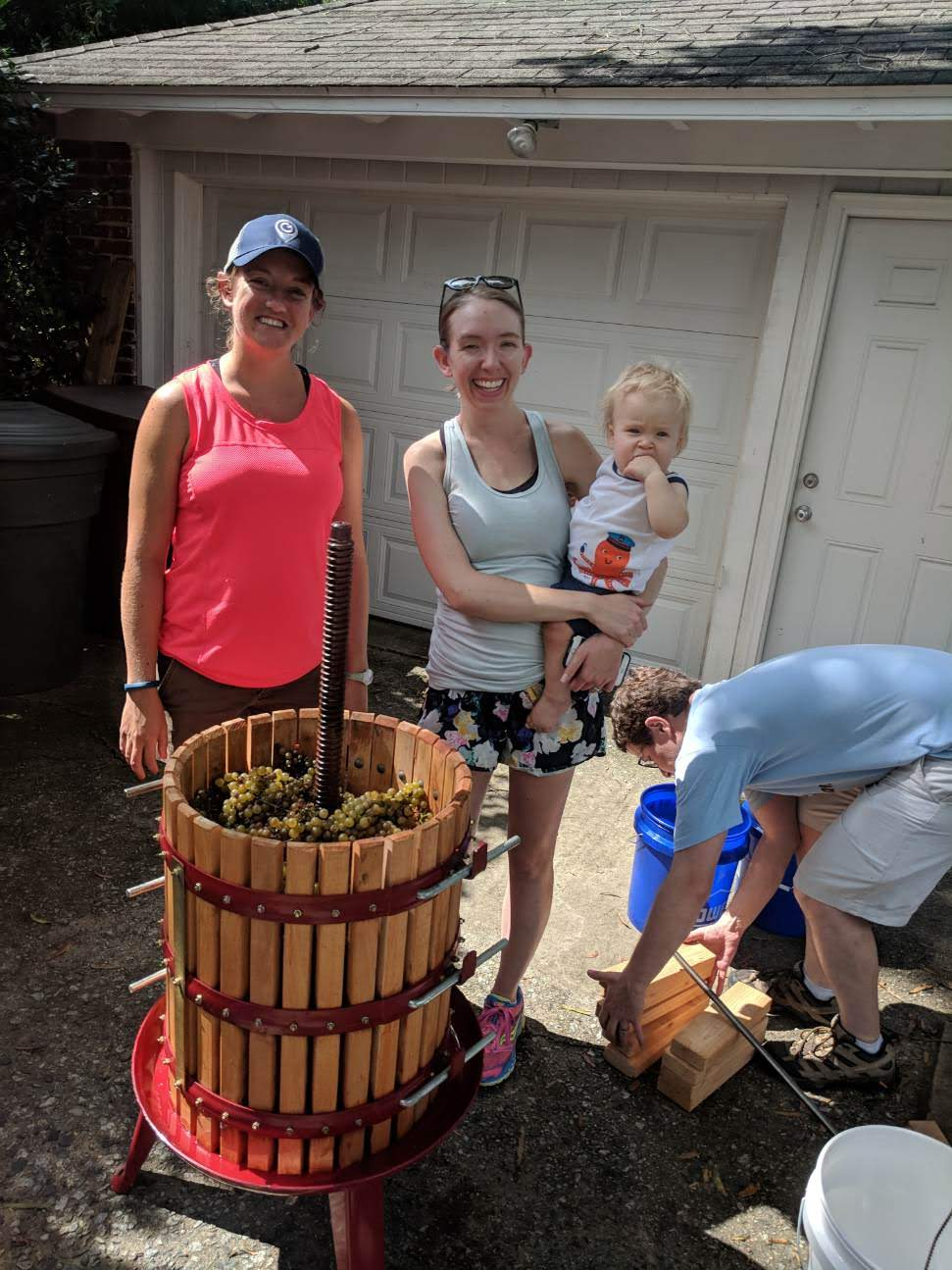 Making wine is a family affair