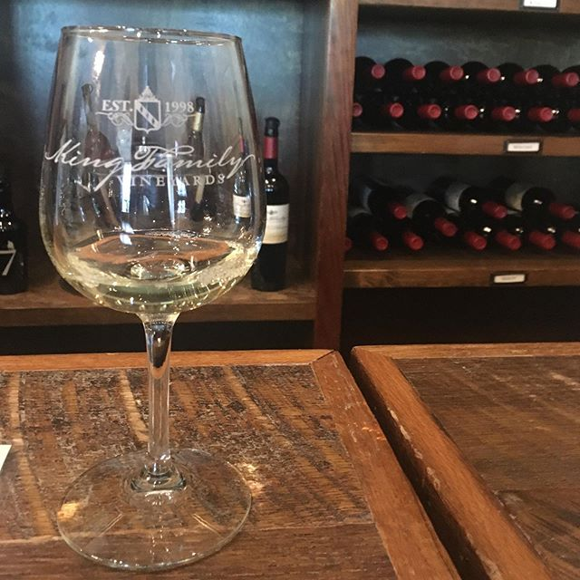 Spending the day in Charlottesville. First stop: King Family Vineyards. Their Viognier is a winner! Aged in steel, oak, acacia, and concrete. #vawine #winemouths #embraceyourwinemouth
