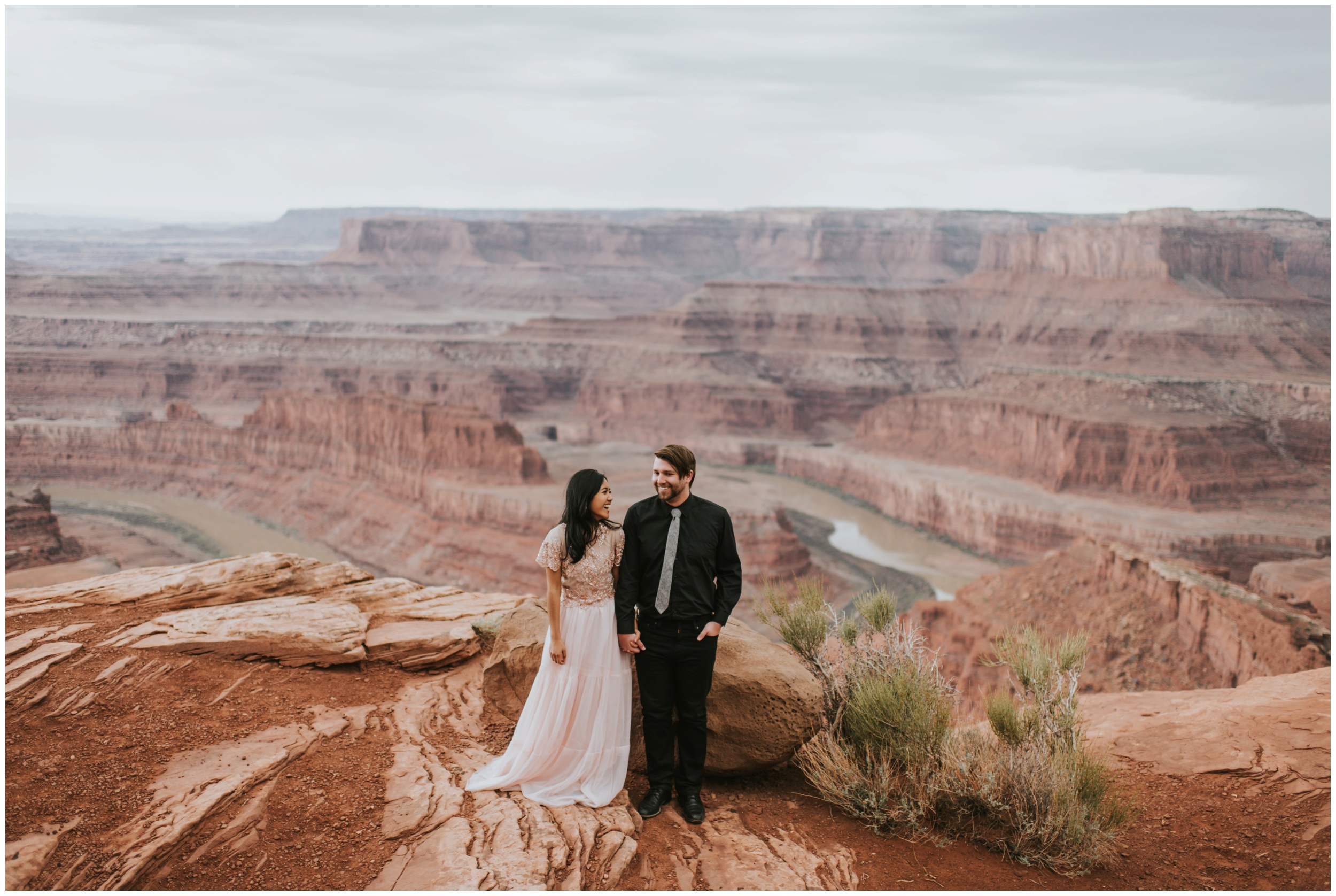 Elopement, Dead Horse Point State Park | Elopement Photographer www.riversandroadsphotography.com