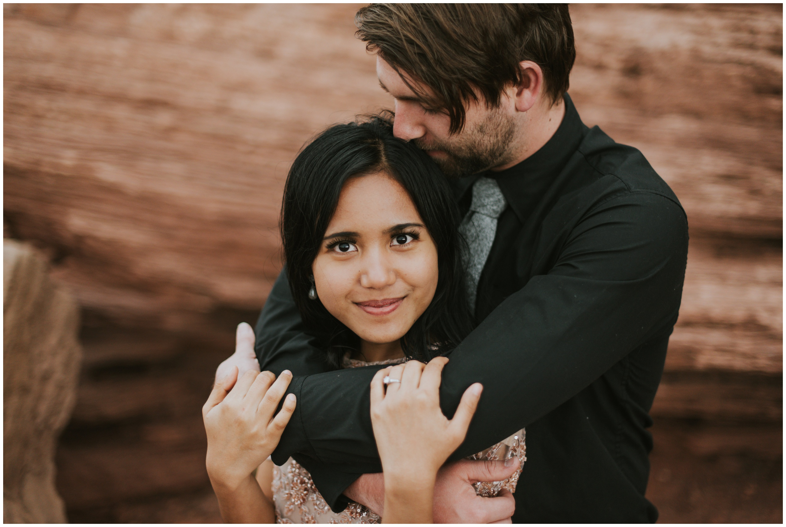 stunning bride eloping at dead horse point | Elopement Photographer www.riversandroadsphotography.com