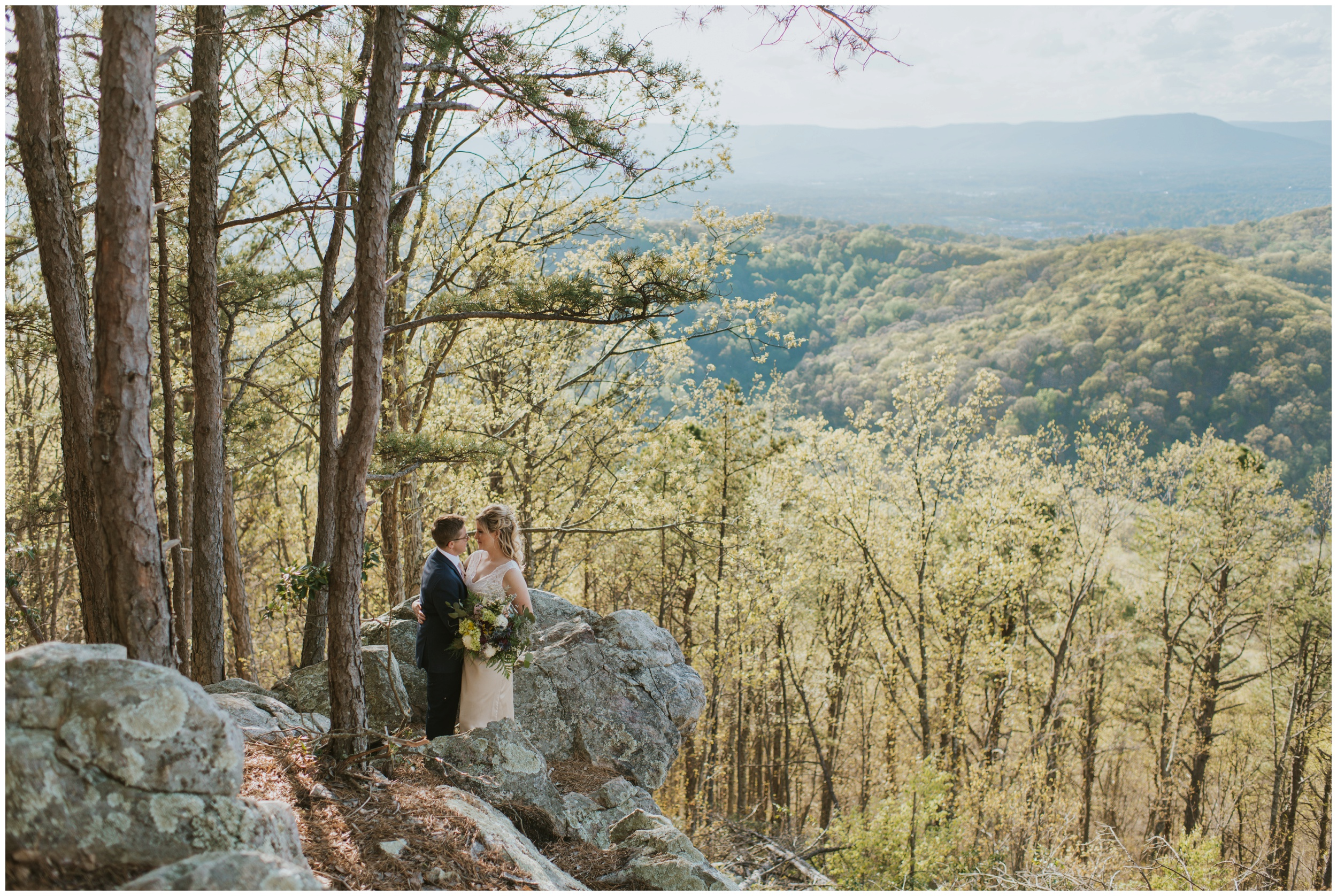 Roanoke Mountain Elopement | www.riversandroadsphotography.com
