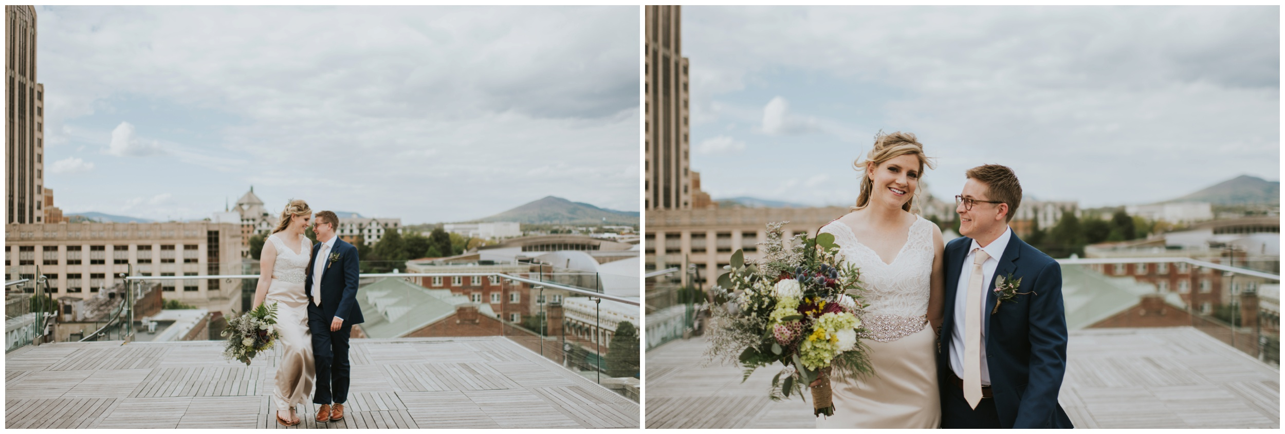 Downtown Roanoke Wedding  | www.riversandroadsphotography.com