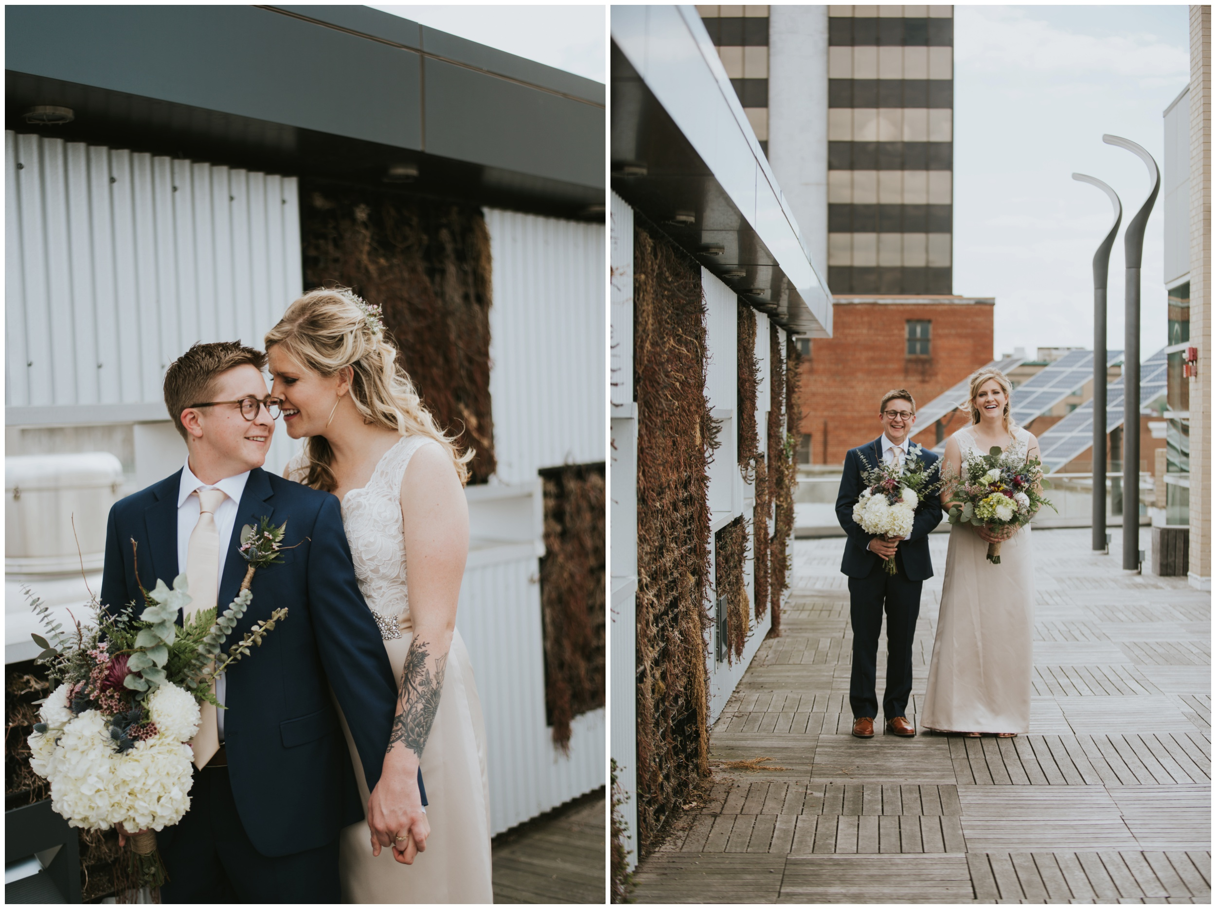 Downtown Roanoke Virginia Elopement  | www.riversandroadsphotography.com