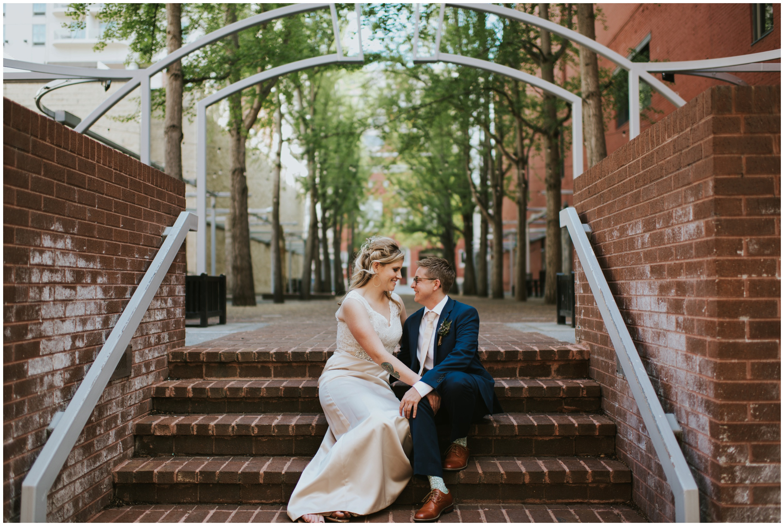 Century Plaza Roanoke Virginia. Wedding Photographer  | www.riversandroadsphotography.com