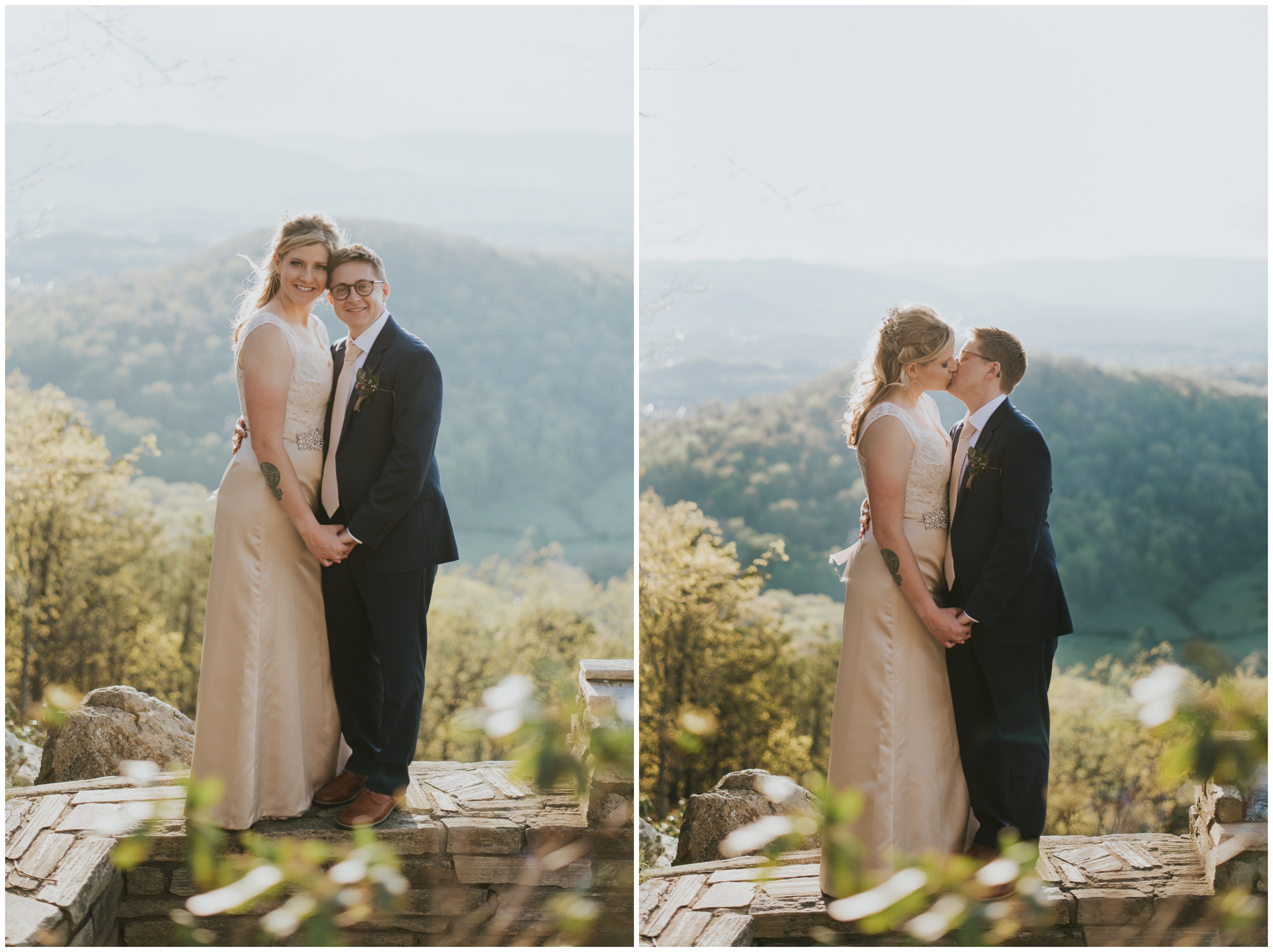 Roanoke Mountain Overlook Wedding Photographer  | www.riversandroadsphotography.com