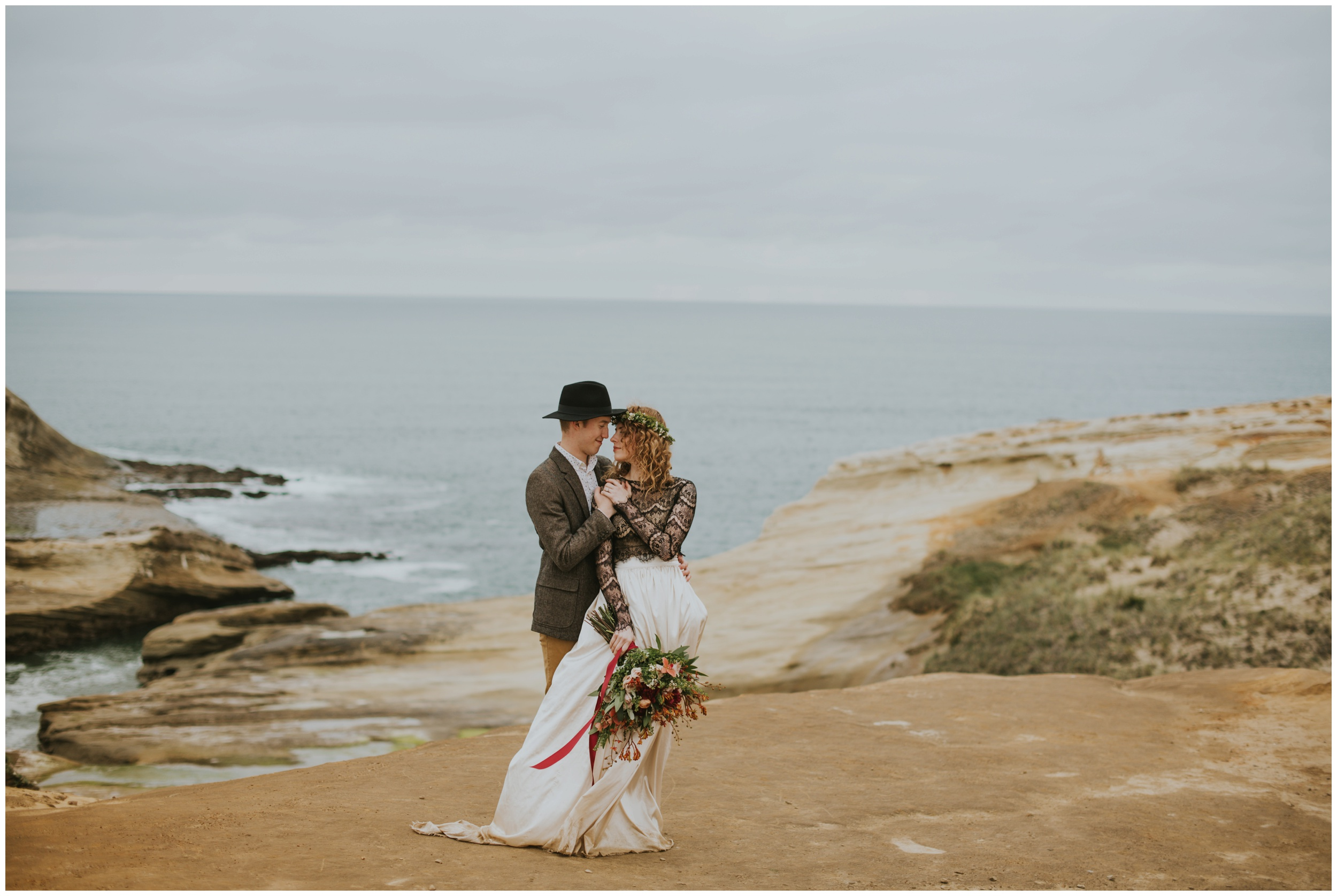 elopement at cape kiwanda