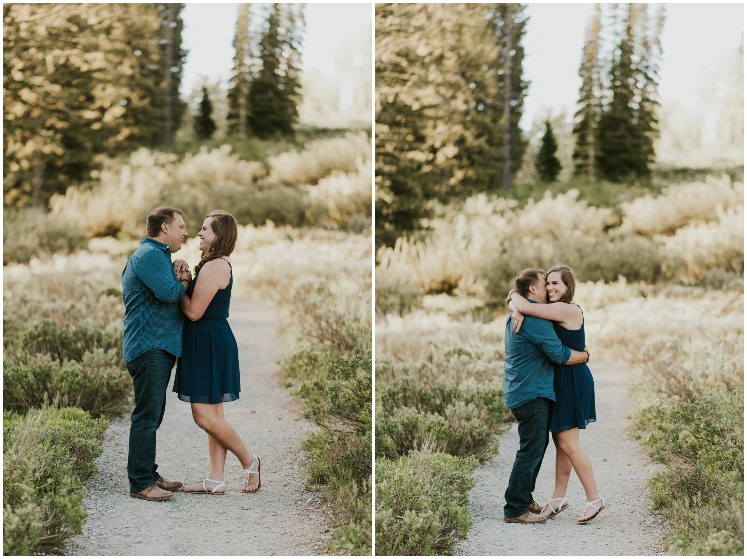 engagement photography at Tony grove campground Logan utah. Logan Utah Engagement & Wedding Photographer.