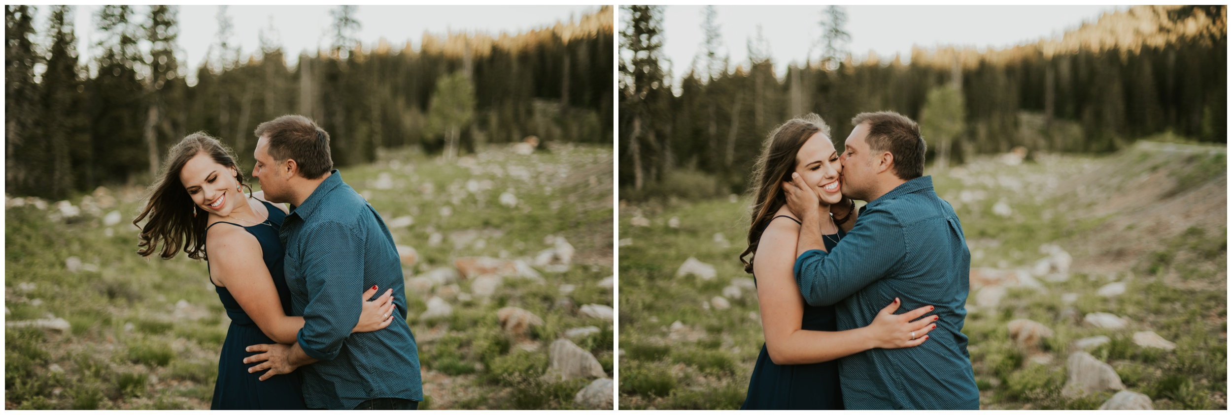 engagement photography rivers and roads photography - Logan utah