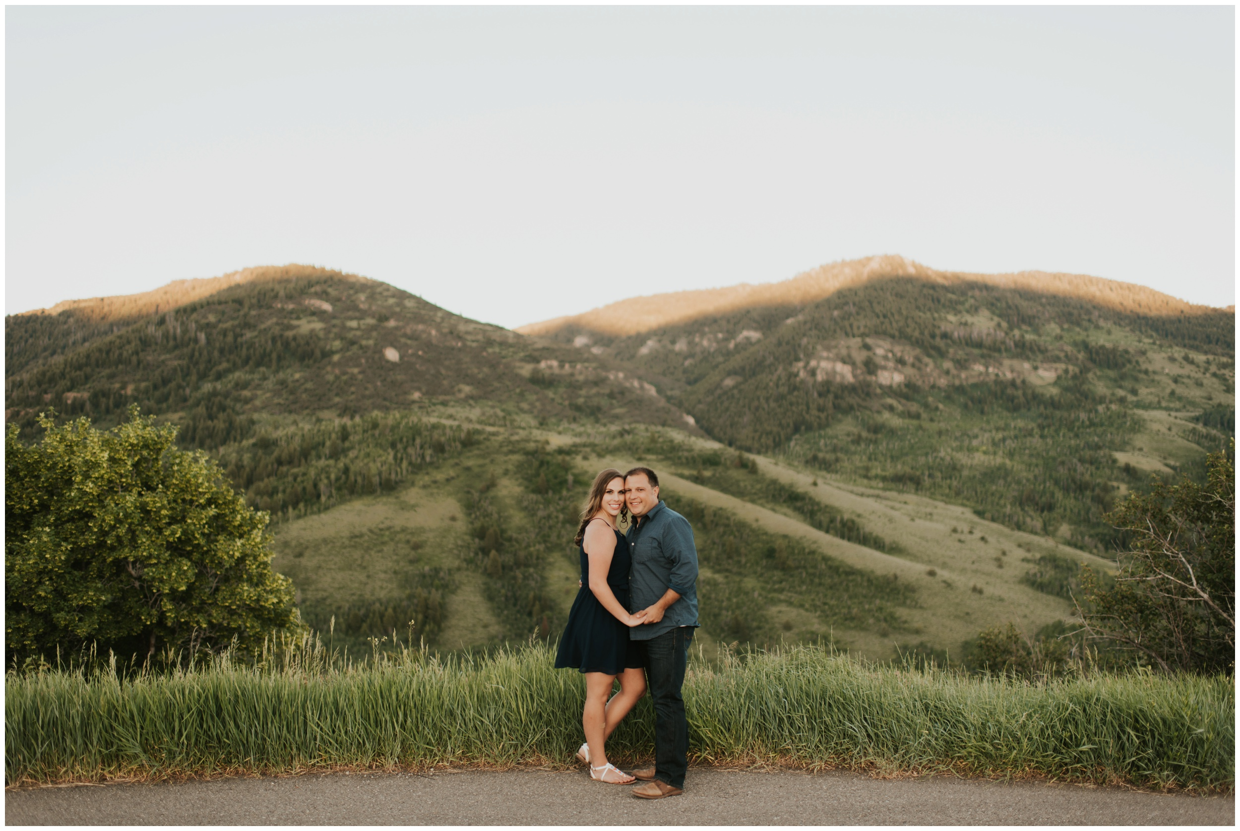 Logan Utah Engagement & Wedding Photographer. Tony Grove Campground Engagement Session.