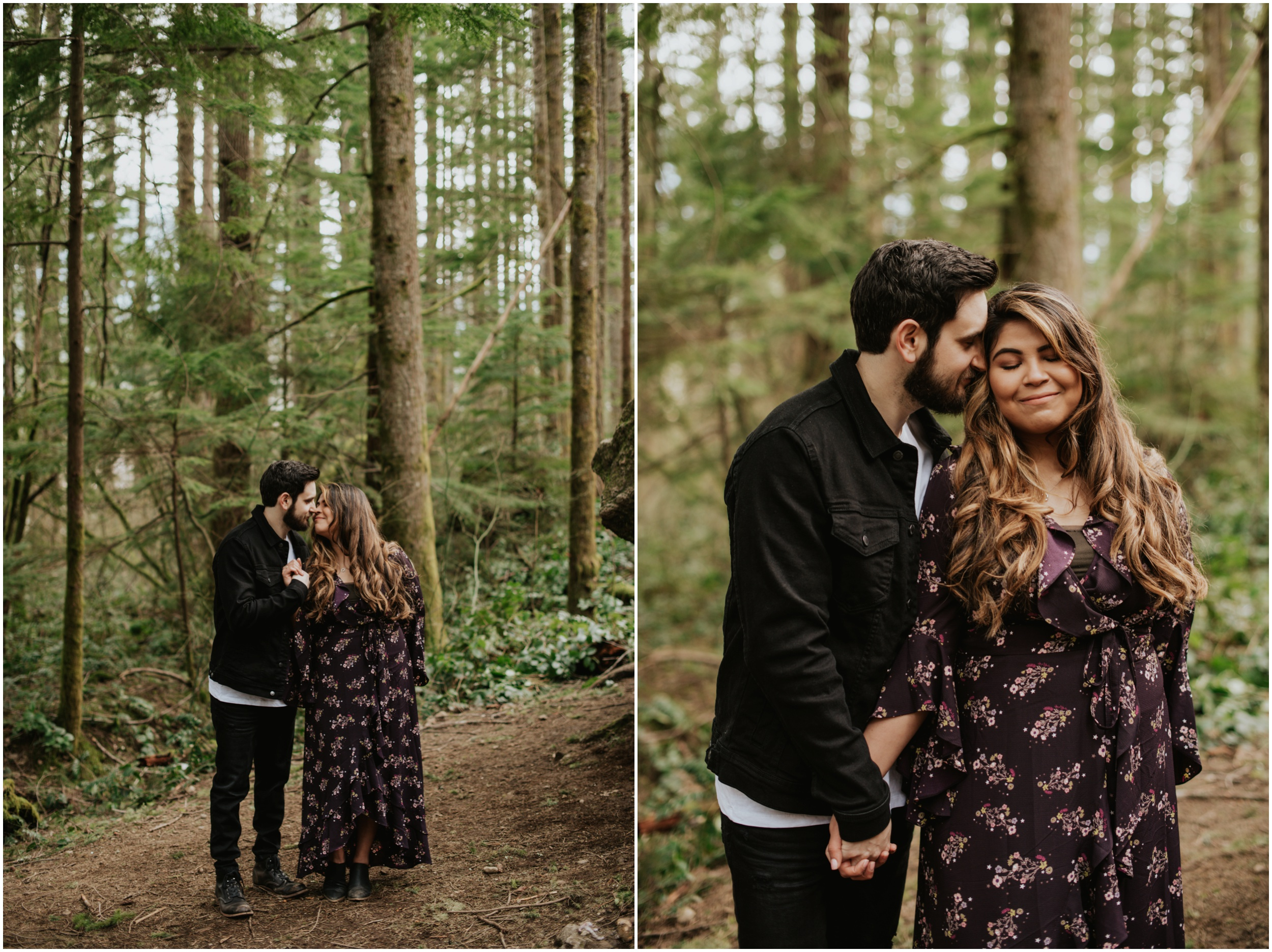couples session at Rattlesnake Lake, WA | Seattle Wedding Photographer www.riversandroadsphotography.com