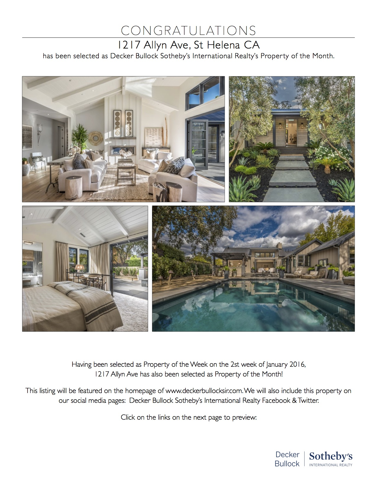 Decker Bullock Sotheby's International Realty's Property of the Month – Nicole Needham