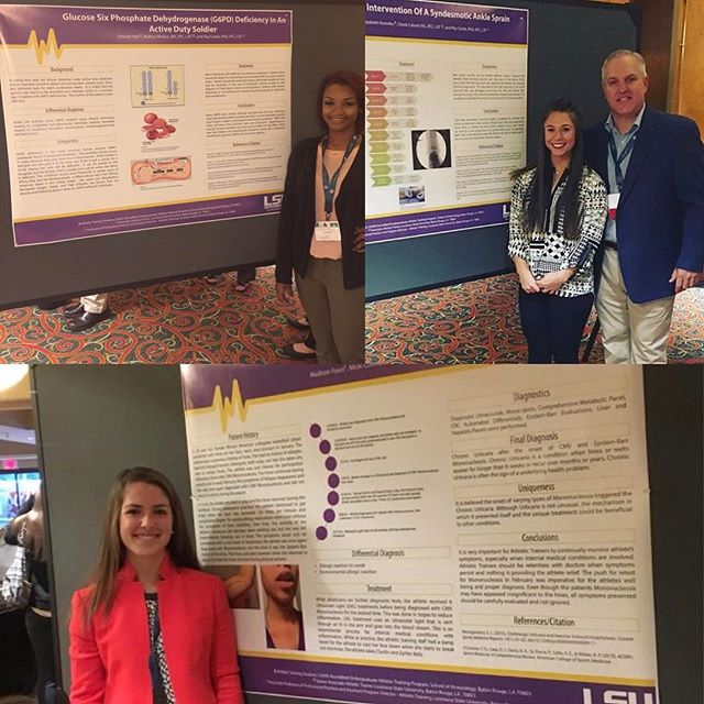 We are SEAUX PROUD of 3 of our students that were selected to present their posters at SEATA💜💛 #GeauxTigers