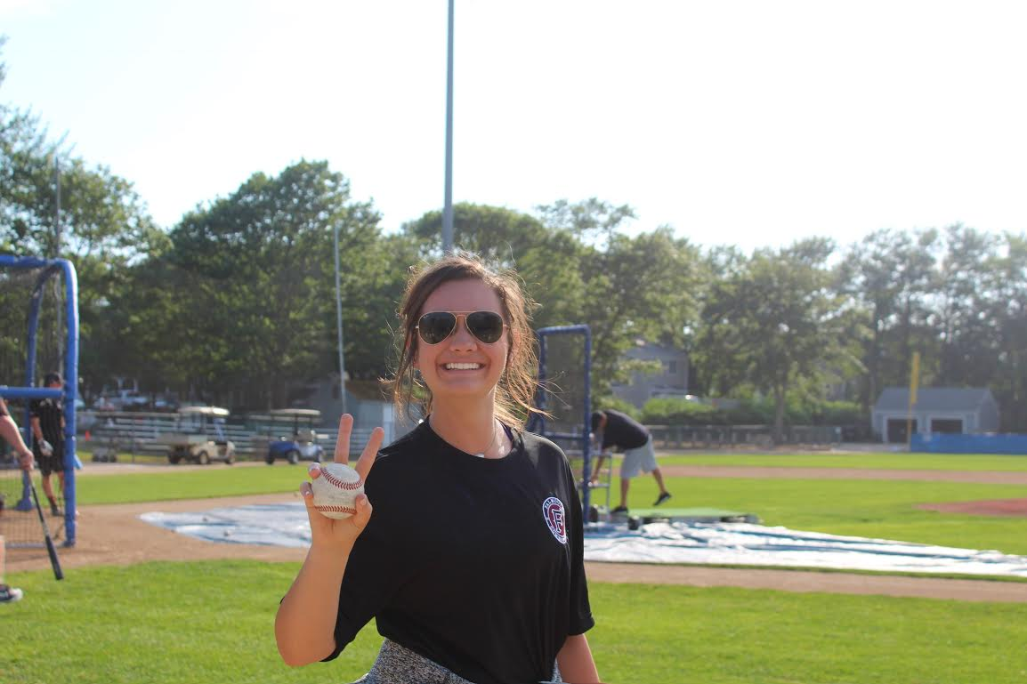 Kate Fisher, Falmouth Commodores 2017  This summer I had the opportunity to intern with the Falmouth Commodores of the Cape Cod Baseball League. This was a collegiate summer ball league, having players from all parts of the country and all different schools come and play for roughly 10 weeks with a 44-game regular season. I worked one-on-one with a certified athletic trainer in all pre- and post-game treatments, gameday setups, obtaining health histories, concussion screenings, assisting in evaluations and implementing rehabilitation regiments. I found this to be an extremely rewarding summer by making connections with professionals in many fields, being exposed to ideologies of other schools' programs, and preparing myself for my upcoming rotation with LSU Baseball.