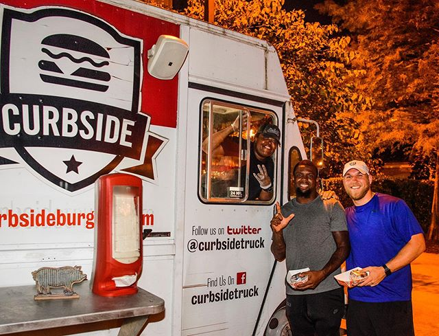 Our football team has been working hard on the field and the reward last night was a surprise food truck for night snack! As you're fueling your performance, don't forget to include some fun foods to give yourself a mental break every once in a while #allfoodsfit #trainingcamptreats #8020rule