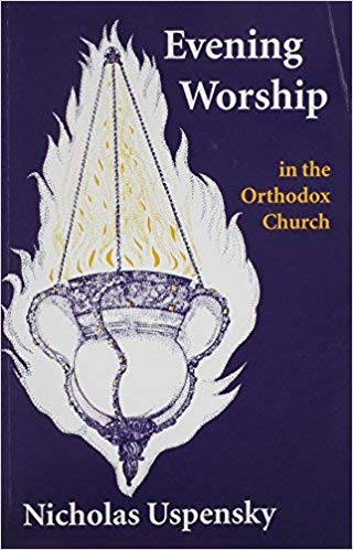 Nicholas Uspensky's  Evening Worship in the Orthodox Church    In this study on evening worship in the Orthodox Church, Nicholas Uspensky reveals the true purpose for which the daily evening service of Vespers came into existence: the ancient Christian tradition of giving thanks for the evening light, and the faith which this tradition implies concerning the presence of Christ in the midst of those gathered in His name.