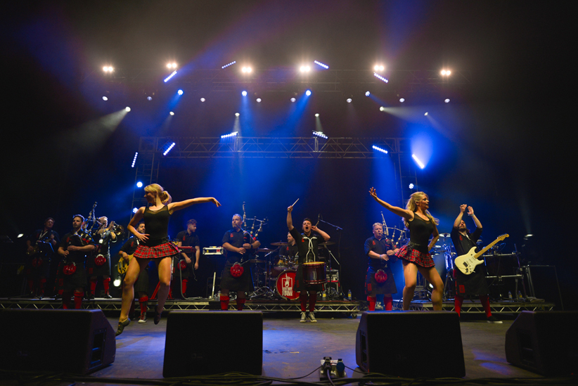 Red Hot Chilli Pipers @ HebCeltFest