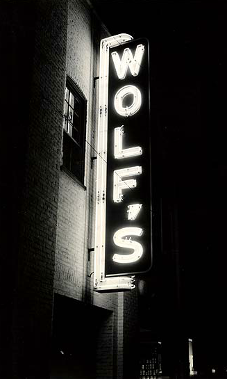 Vintage Wolf's Sign | Refindings York, PA | Architectural Salvage and Antiques