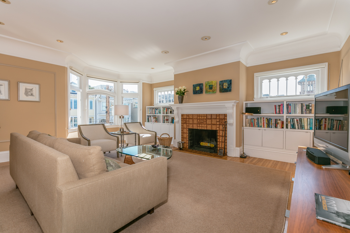 Property 198   Bay and Golden Gate view 2 Bedroom 2 Bath in Pacific Heights