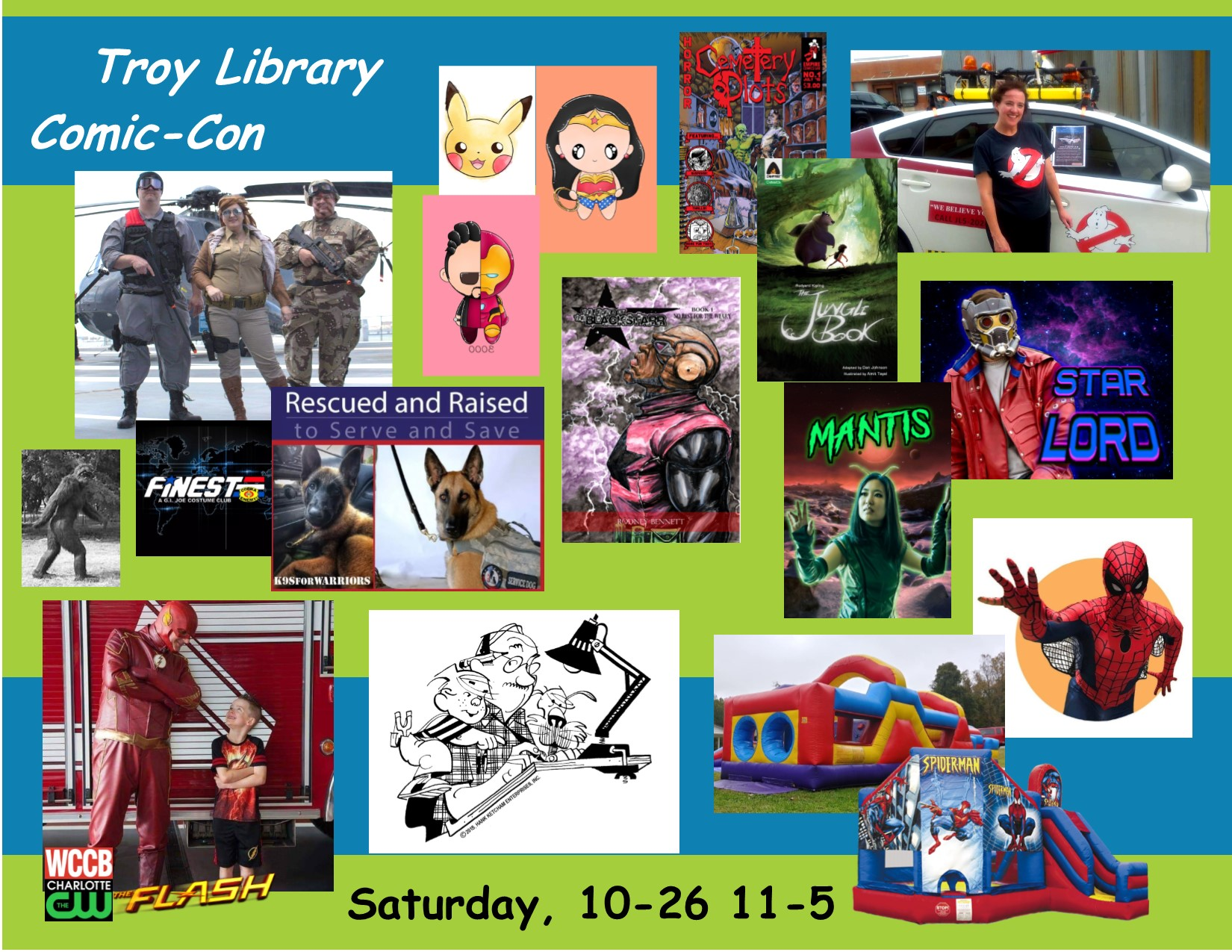 Troy Library Comic-Con 2019 Art & Character Collage L.jpg