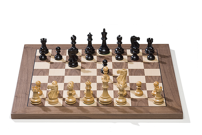 Serial Board with Classic Pieces