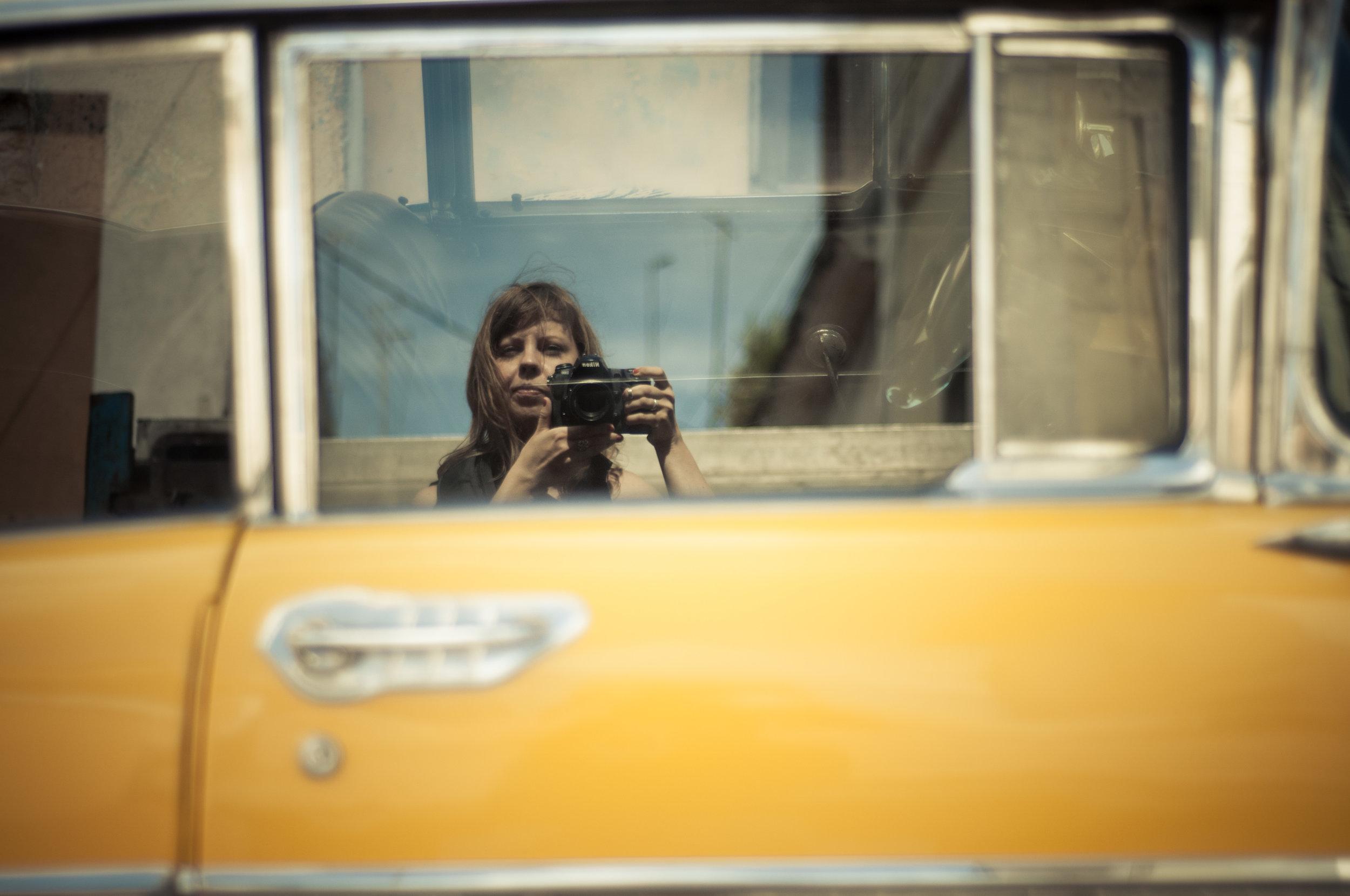 Self Portrait, Cuba 2013