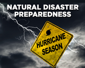 Is your business prepared for any natural disaster?