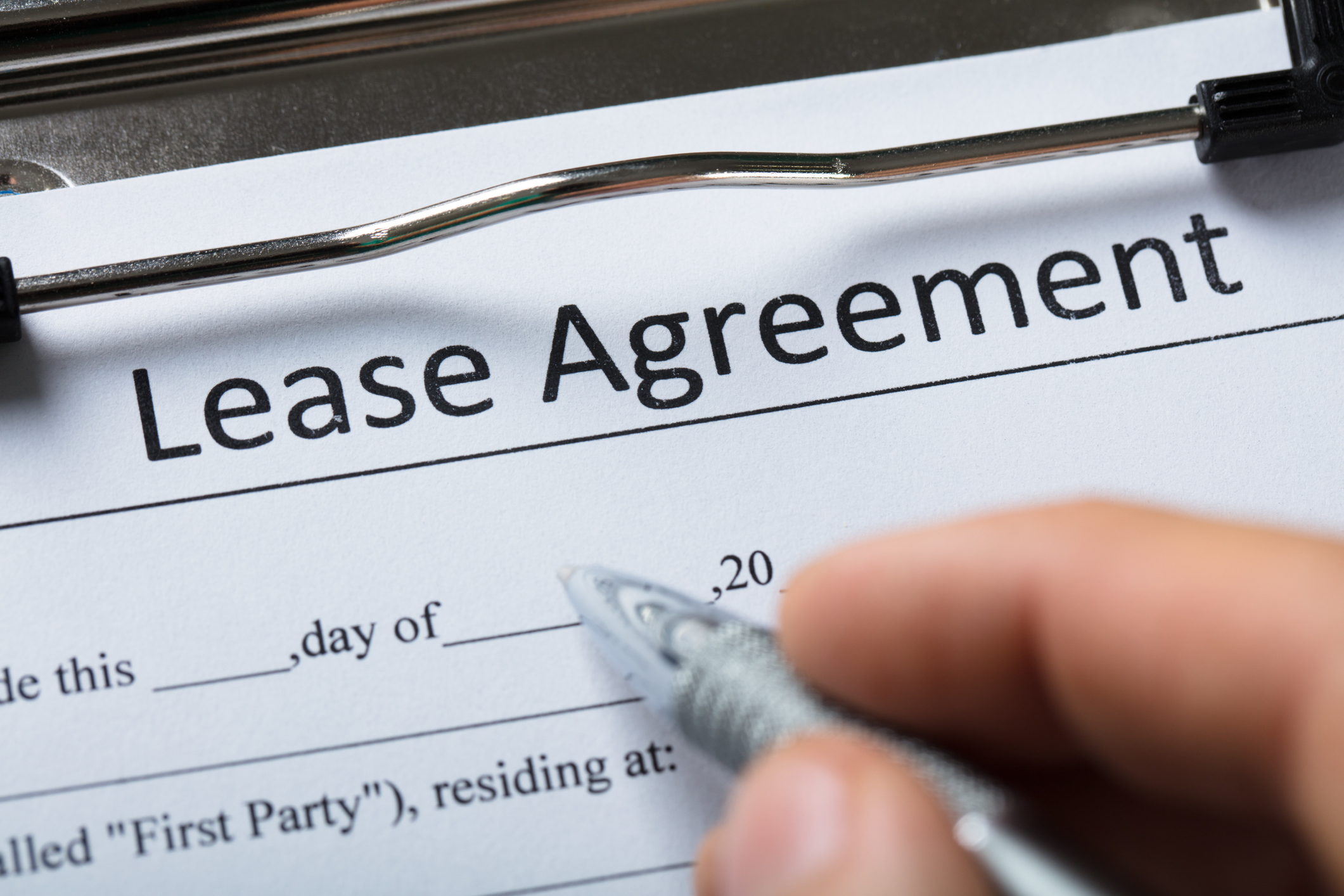 The more specific the lease agreement's language, the clearer the picture.