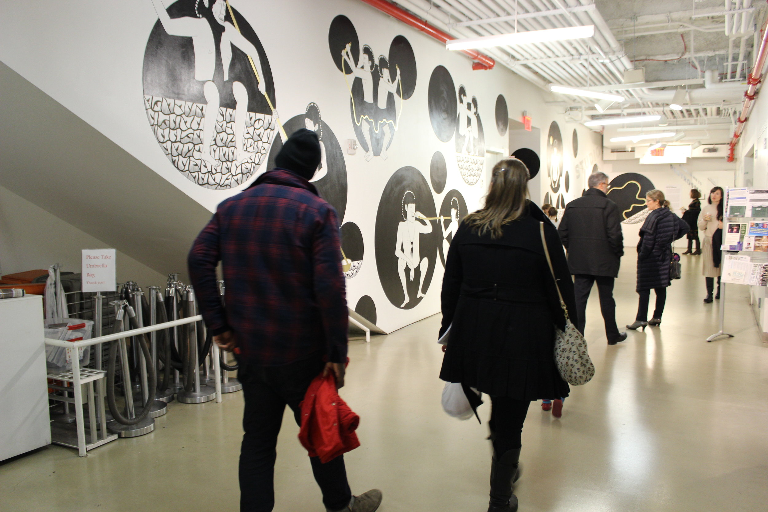 Fefa Românova.  Mirror's Inhabitants , 2017. Installation view (BRIC).