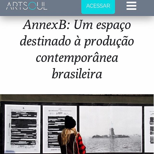 Check out ArtSoul's (@artsoul.br) recent article by Anna Luísa Veliago Costa on AnnexB's residency program. An interview with AnnexB Board Member Georgiana Rothier (@grothier) and Director Larissa Ferreira. 📲 Tap the link in bio to read the entire article (in Portuguese). —- 📷: Mural by Rodrigo Moreira (@rodrigomoreira.visualarts), AnnexB's former resident artist. . . #annexb #newyork #ny #nyc #brooklyn #bushwick #art #artresidency #publicprograms #publicart #brazilianartist #brazilianartincubator
