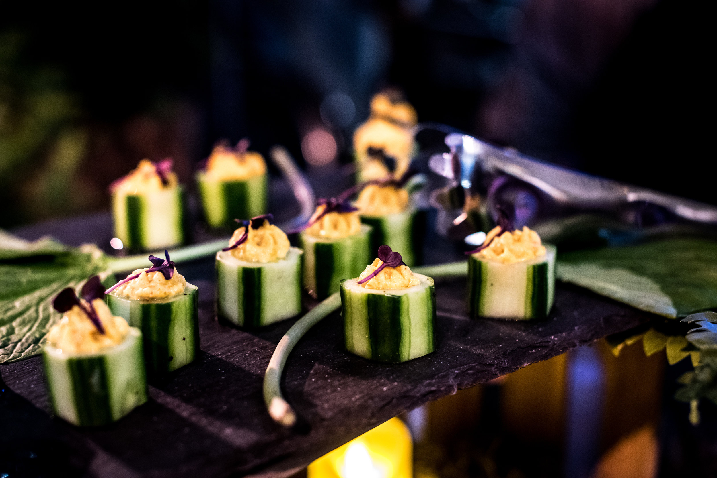 Delicious treats from elite caterers.