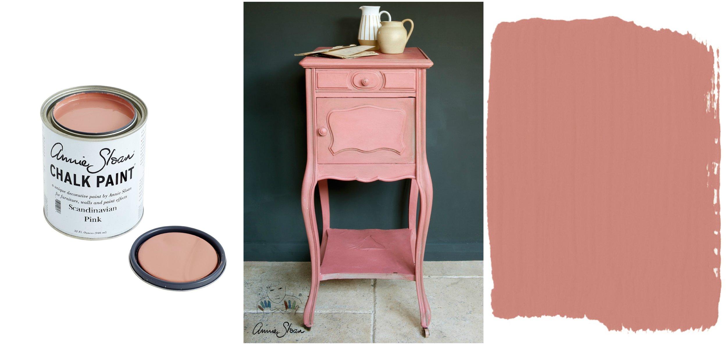 Scandinavian Pink www.redesignnh.com