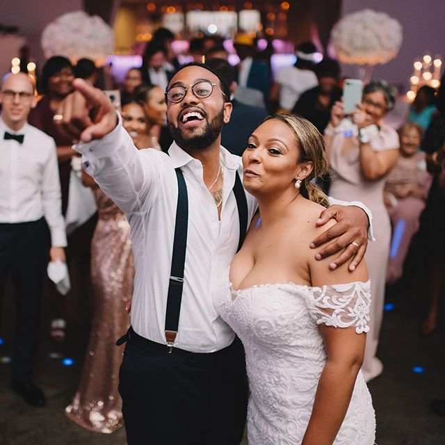 What's your favorite part of a wedding day? Comment below. I'd say mine is the reception. It's filled with so many memorable moments from the newly weds to the bridal party to the guests. All parts of the day are important, but there's nothing like capturing candid images of joy.